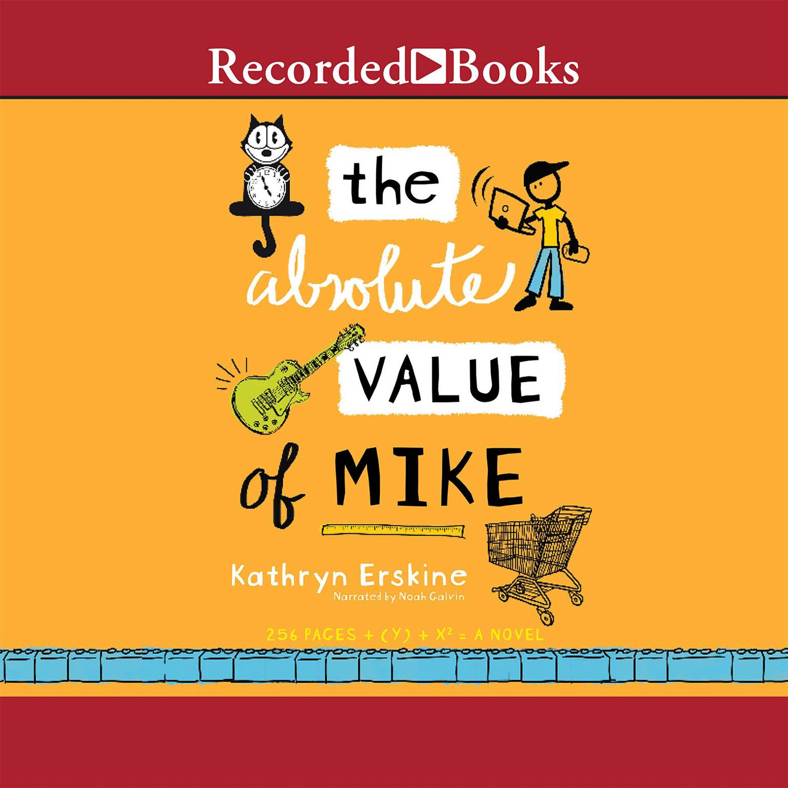 Printable The Absolute Value of Mike Audiobook Cover Art