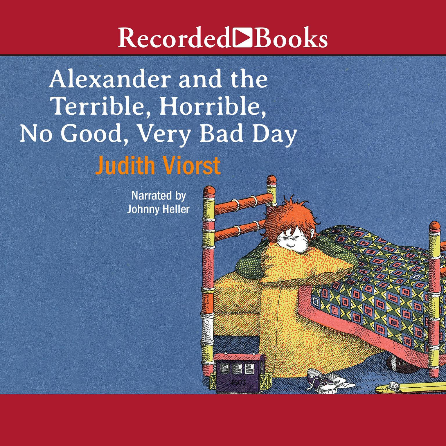 Printable Alexander and the Terrible, Horrible, No Good, Very Bad Day Audiobook Cover Art