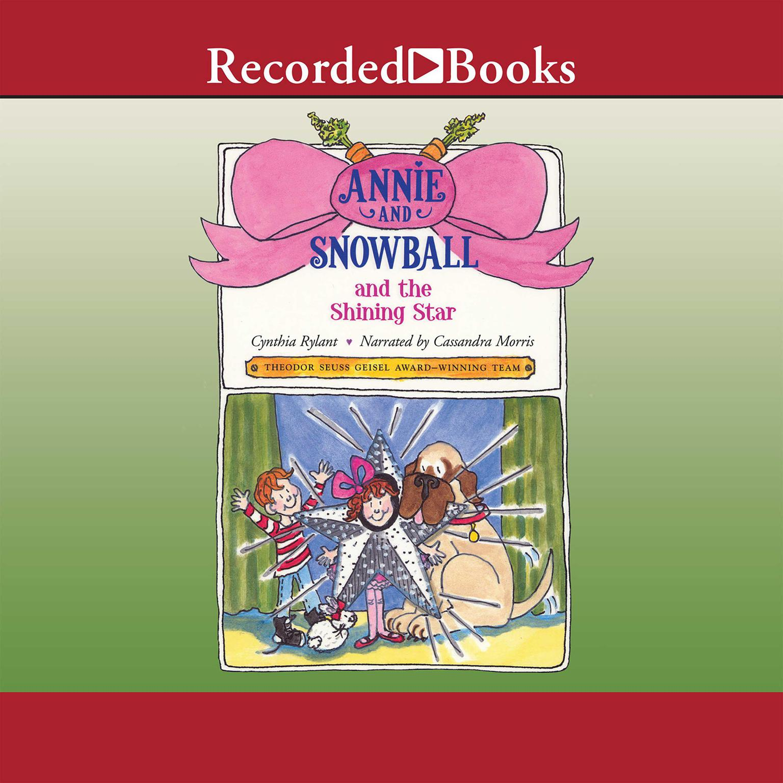 Printable Annie and Snowball and the Shining Star Audiobook Cover Art