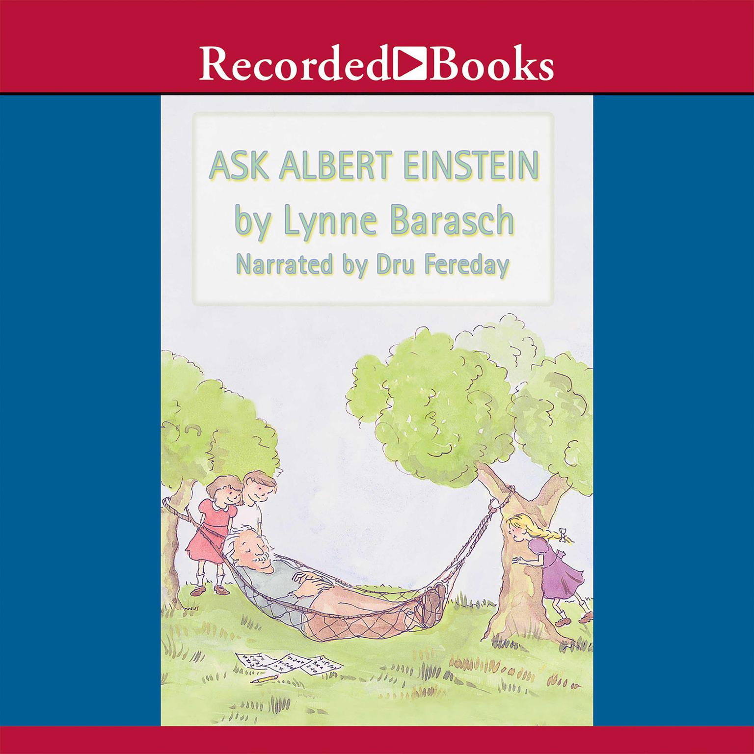 Printable Ask Albert Einstein Audiobook Cover Art