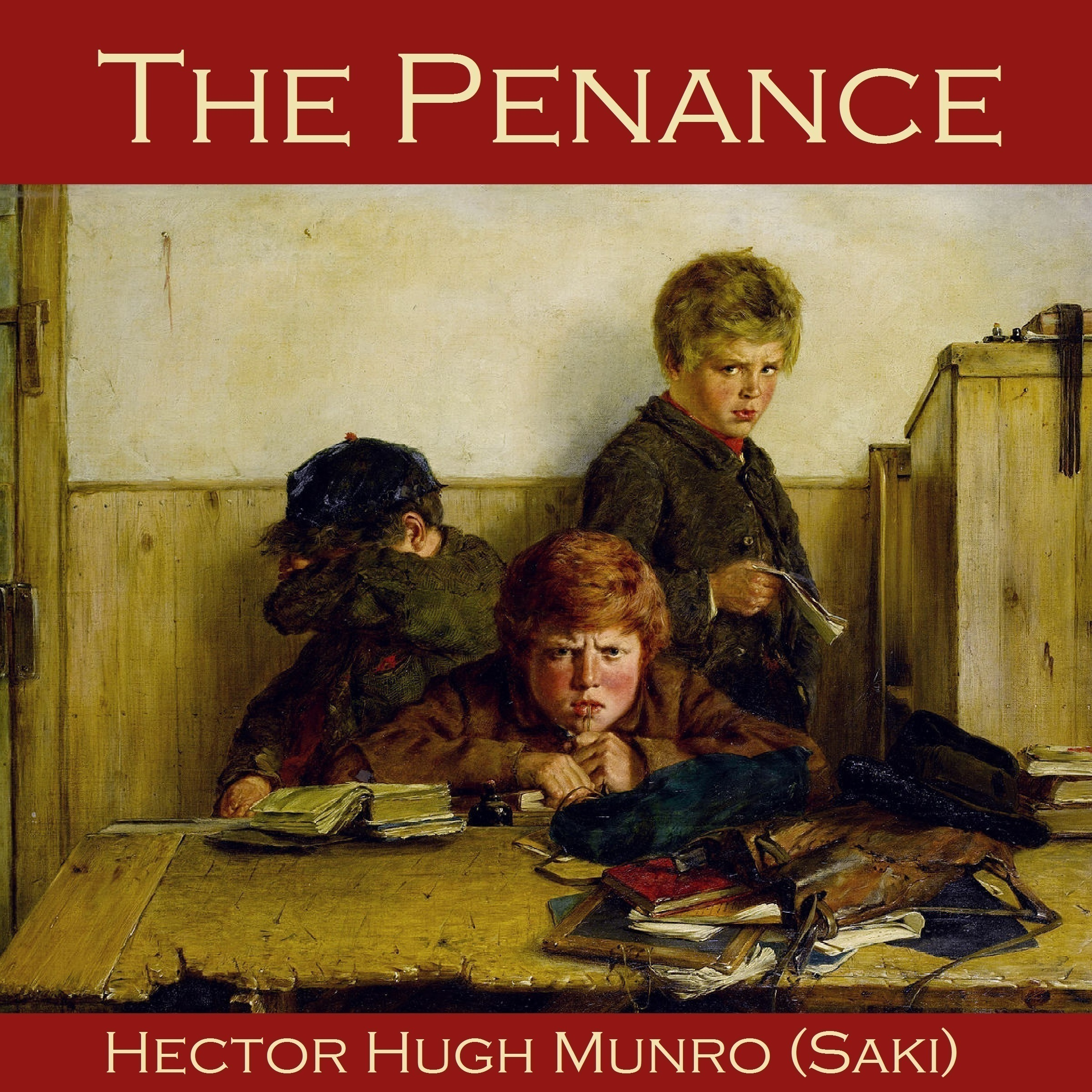 Printable The Penance Audiobook Cover Art