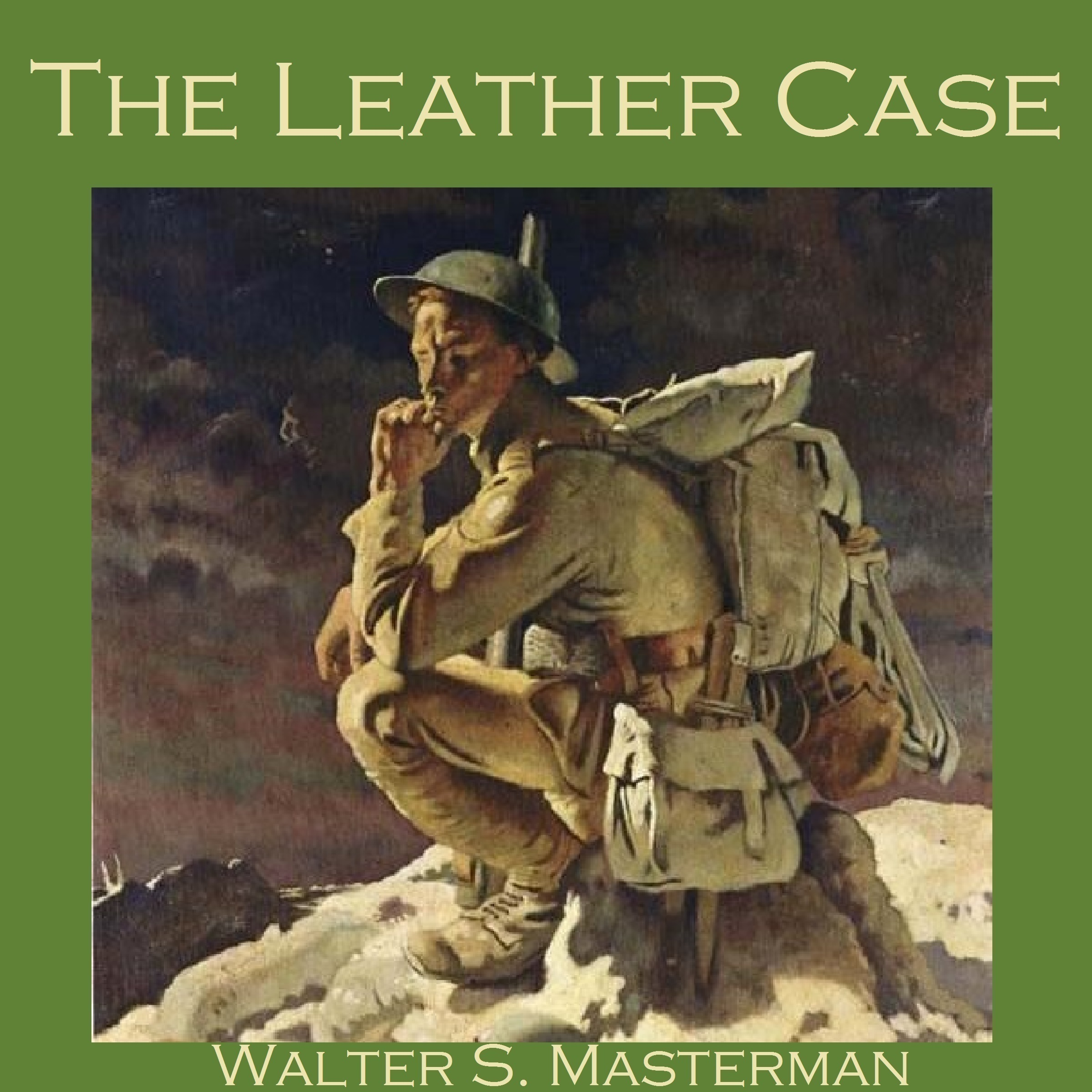 Printable The Leather Case Audiobook Cover Art