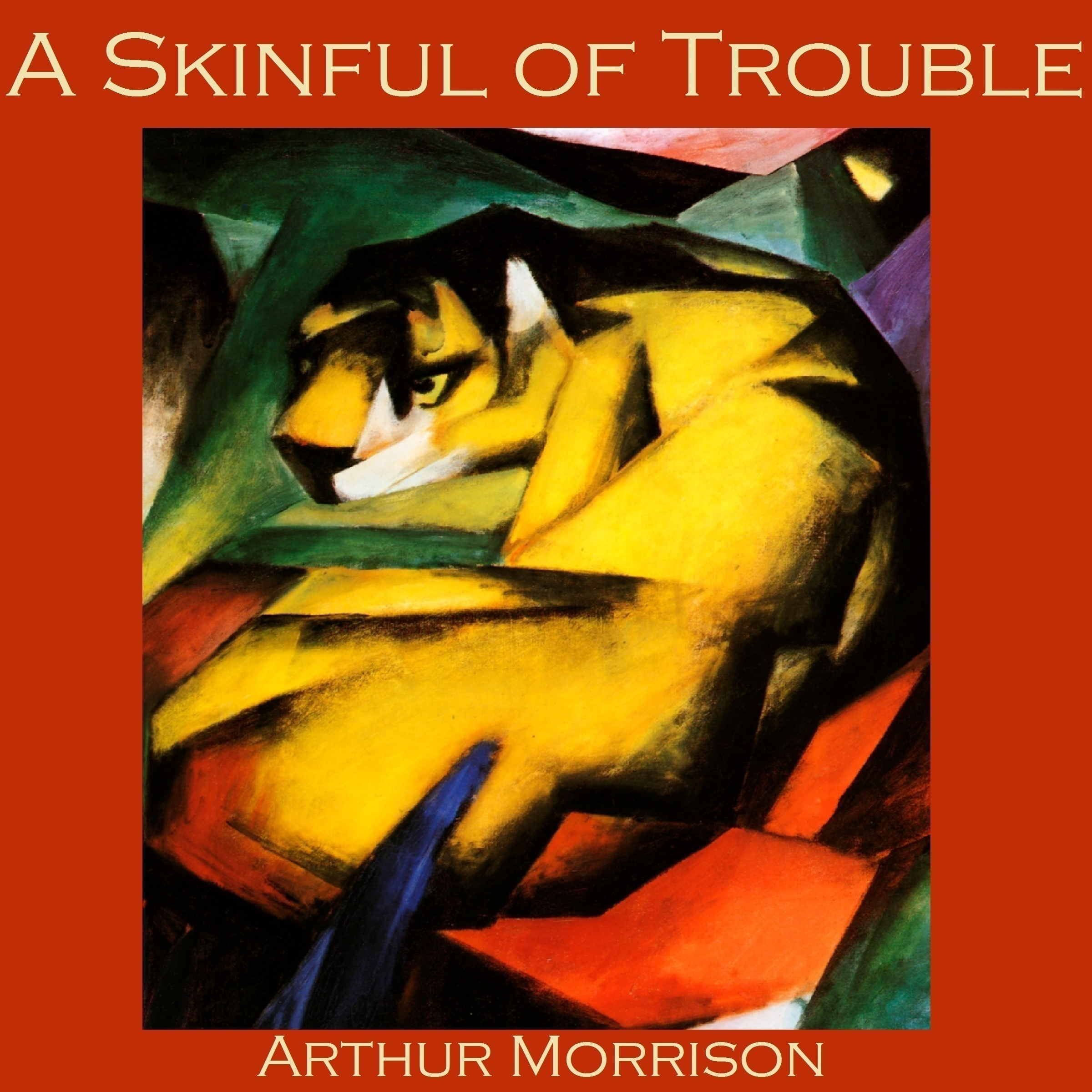 Printable A Skinful of Trouble Audiobook Cover Art