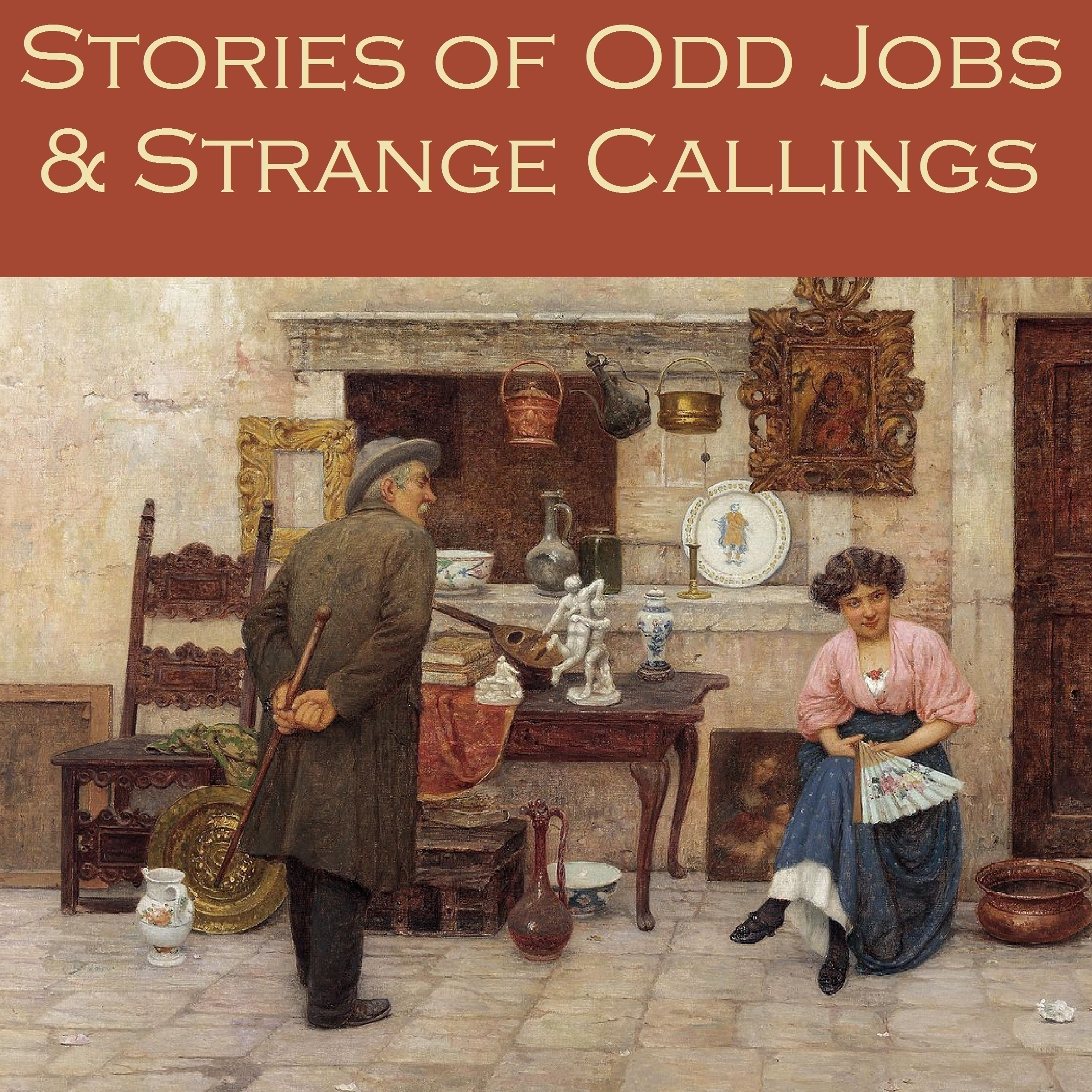 Printable Stories of Odd Jobs and Strange Callings Audiobook Cover Art