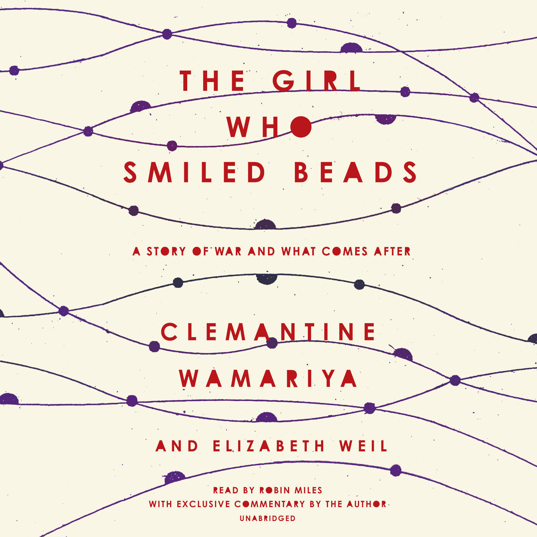 Printable The Girl Who Smiled Beads: A Story of War and What Comes After Audiobook Cover Art