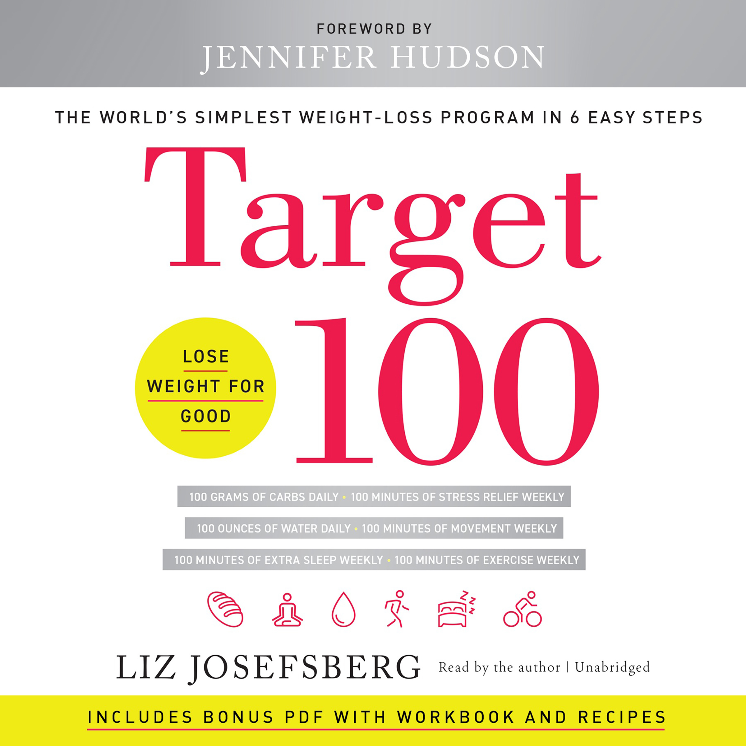 Printable Target 100: The World's Simplest Weight-Loss Program in 6 Easy Steps Audiobook Cover Art