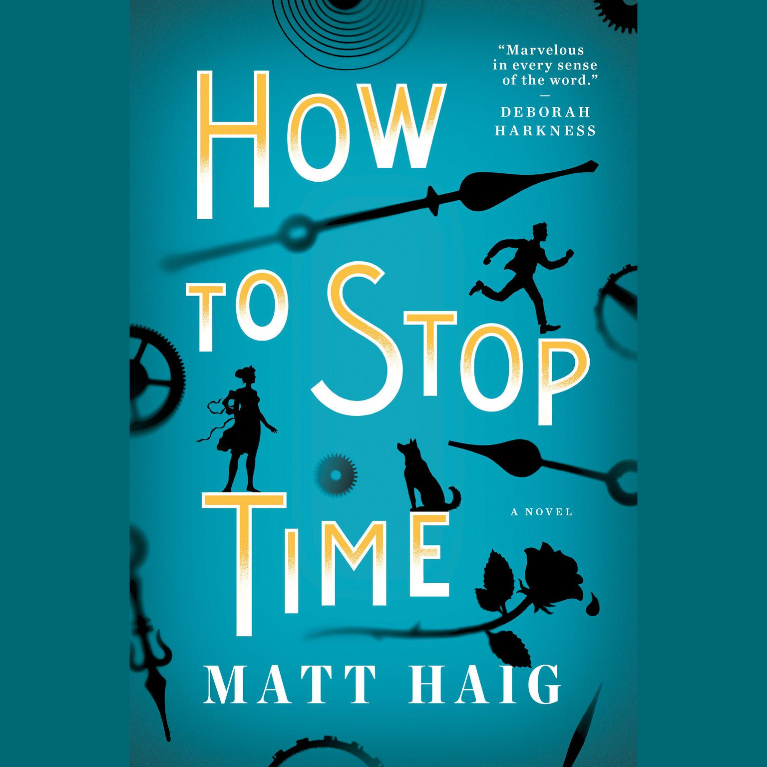 Printable How to Stop Time Audiobook Cover Art