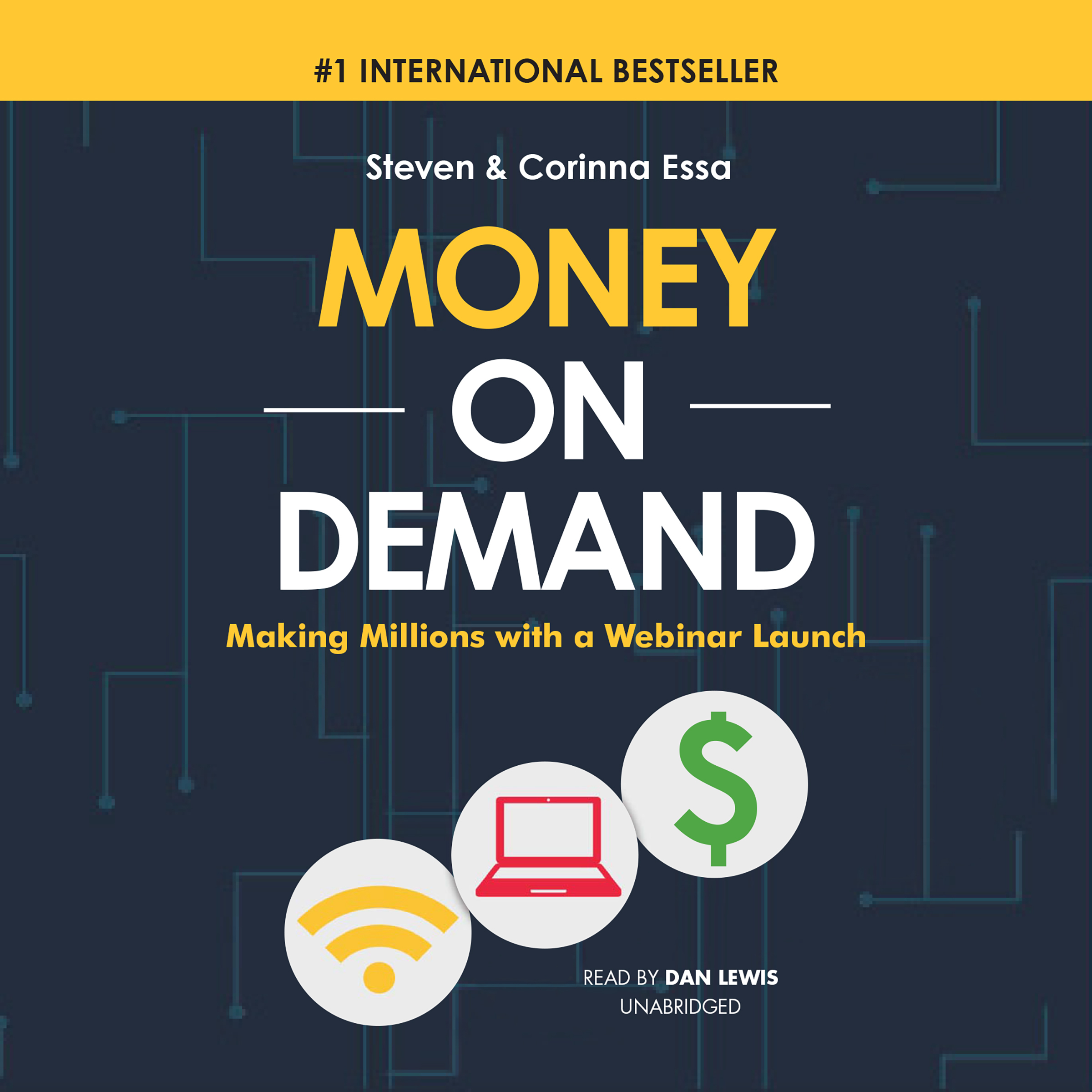 Printable Money on Demand: Making Millions with a Webinar Launch Audiobook Cover Art