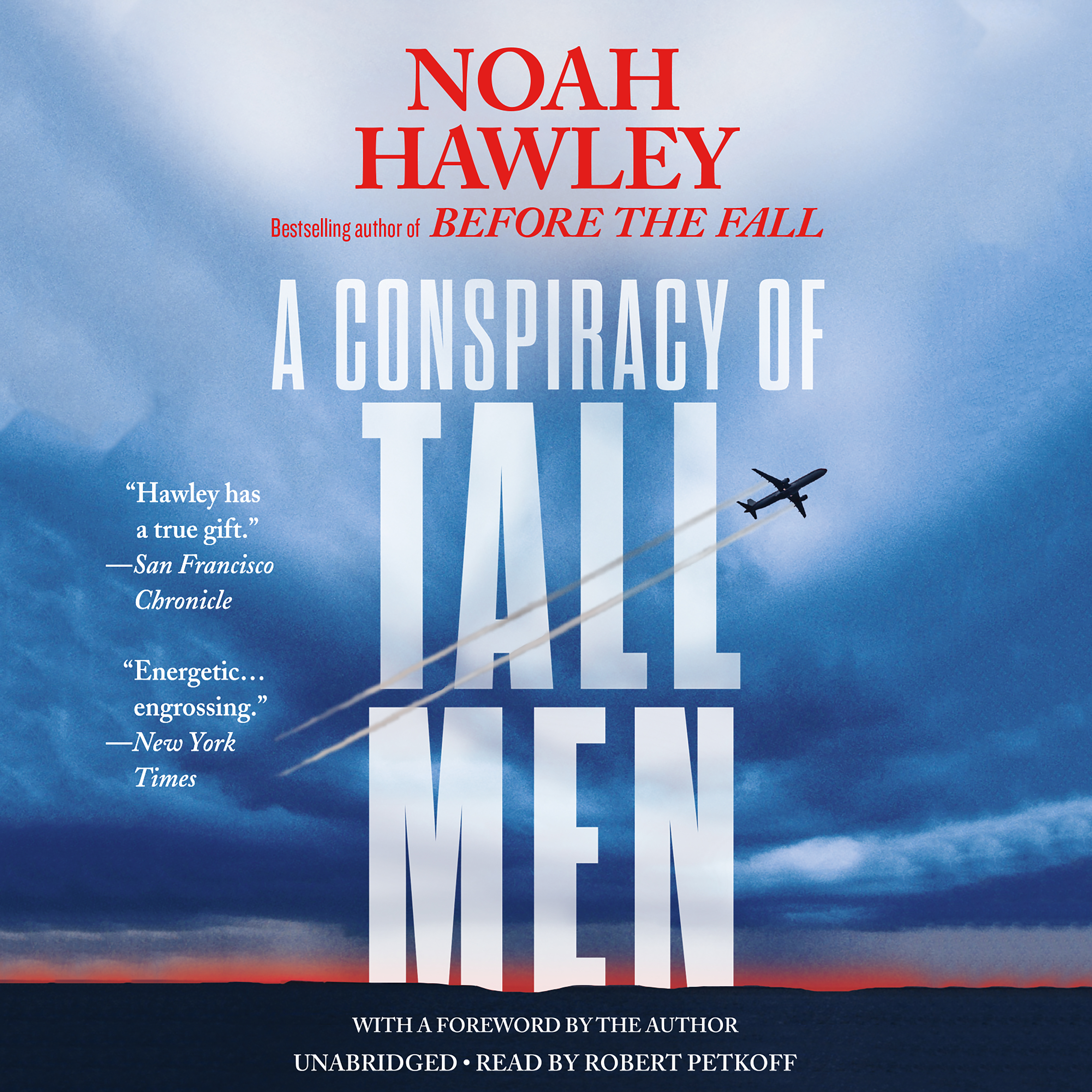 Printable A Conspiracy of Tall Men Audiobook Cover Art