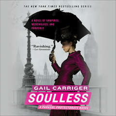 Soulless Audiobook, by Gail Carriger