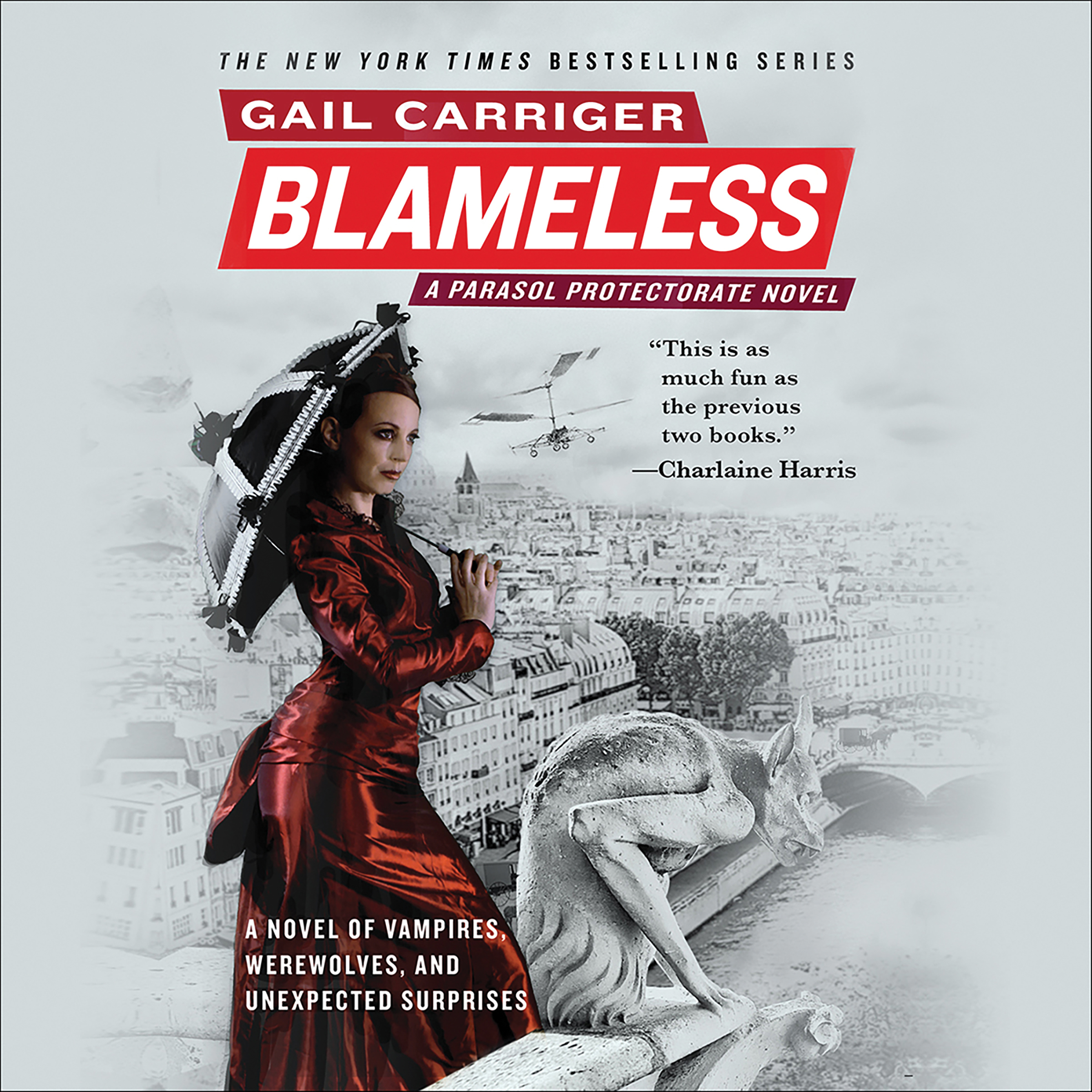 Printable Blameless Audiobook Cover Art