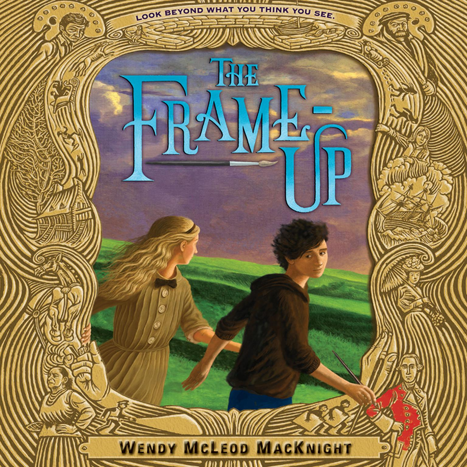 Printable The Frame-Up Audiobook Cover Art