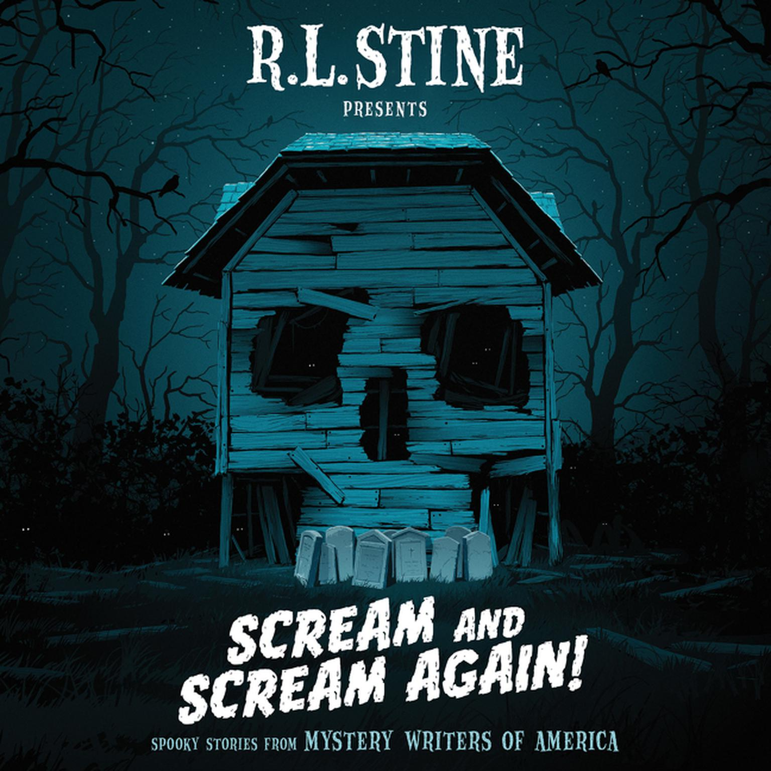 Printable Scream and Scream Again!: Spooky Stories from Mystery Writers of America Audiobook Cover Art