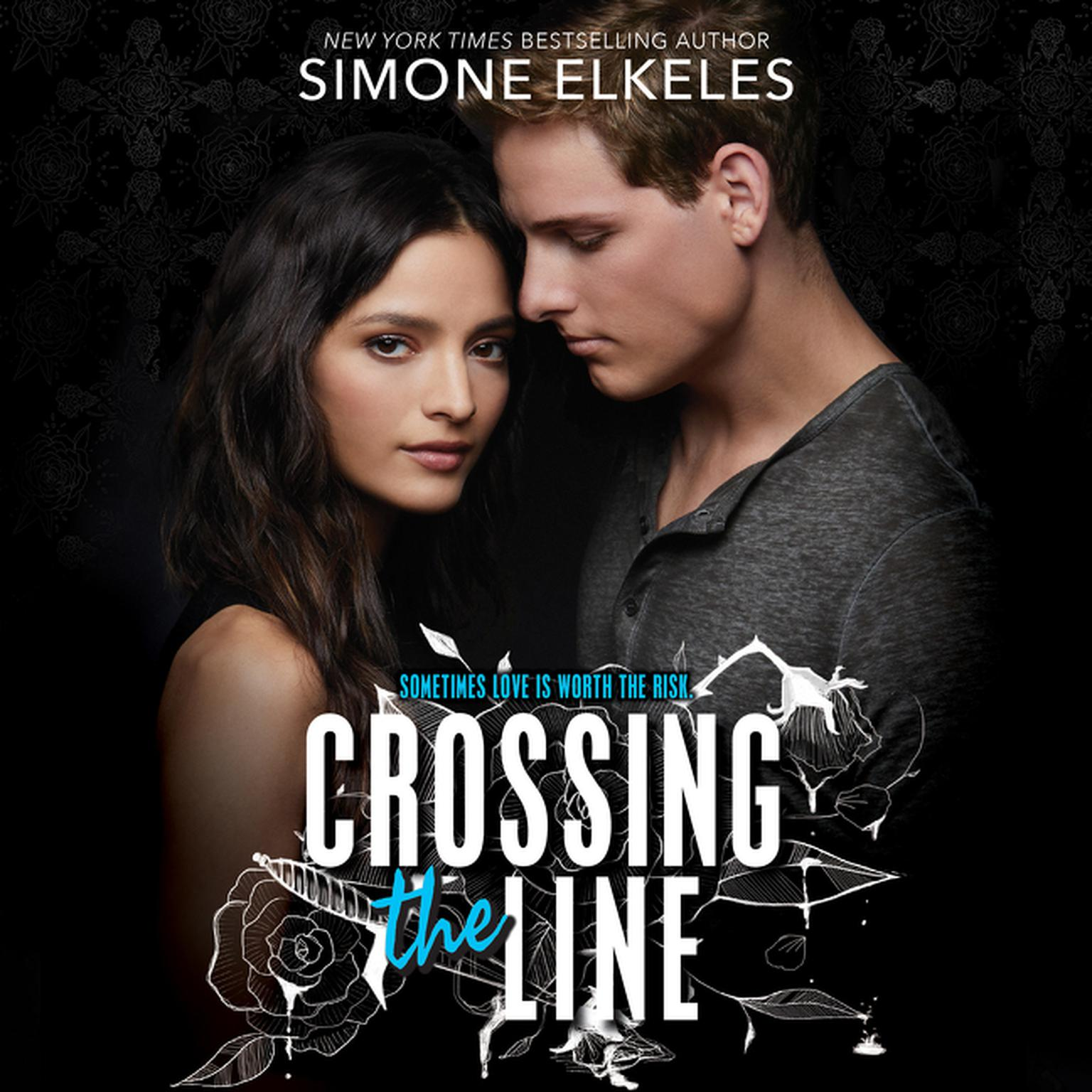 Printable Crossing the Line Audiobook Cover Art