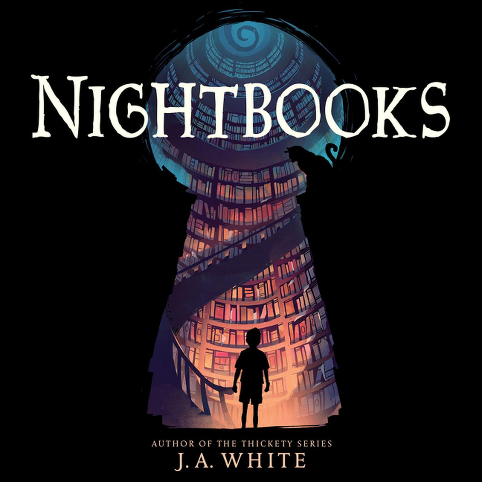 Printable Nightbooks Audiobook Cover Art