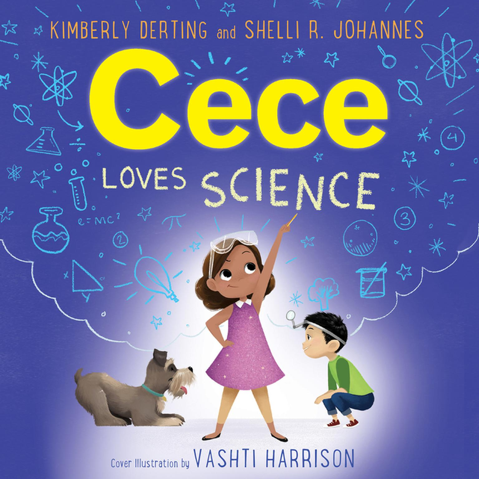 Printable Cece Loves Science Audiobook Cover Art
