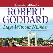 Days Without Number Audiobook, by Robert Goddard