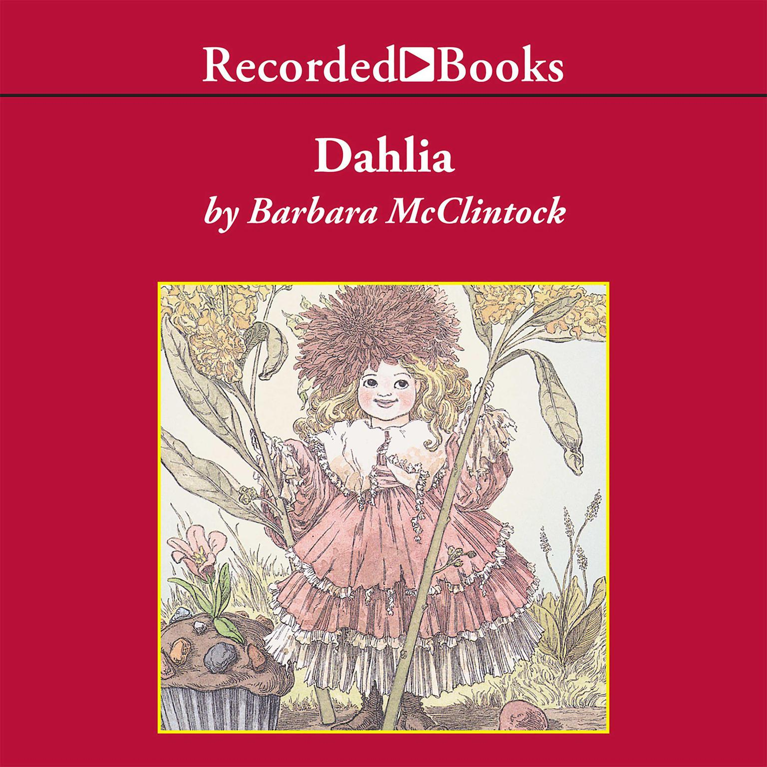 Printable Dahlia Audiobook Cover Art