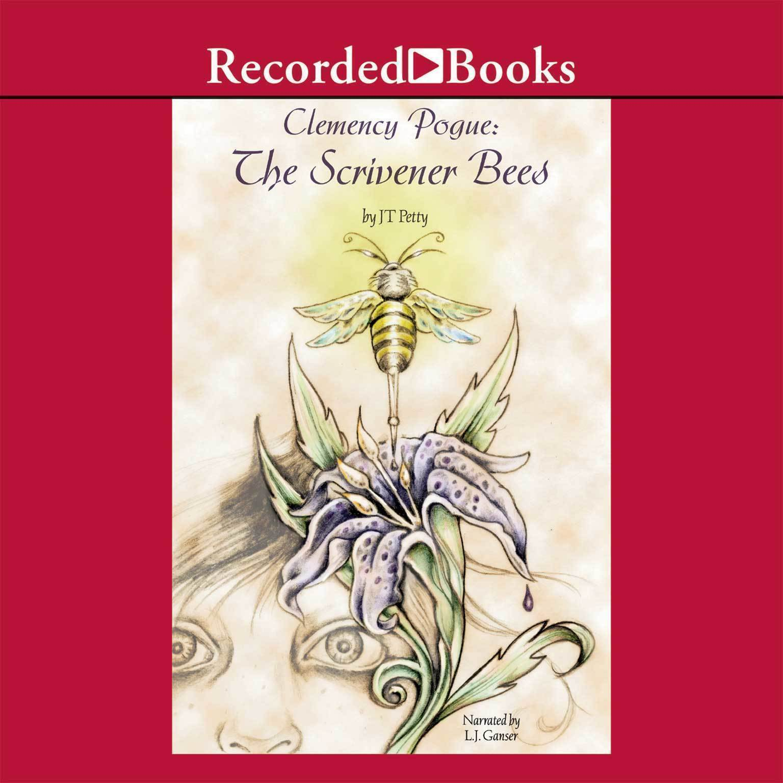 Printable The Scrivener Bees Audiobook Cover Art