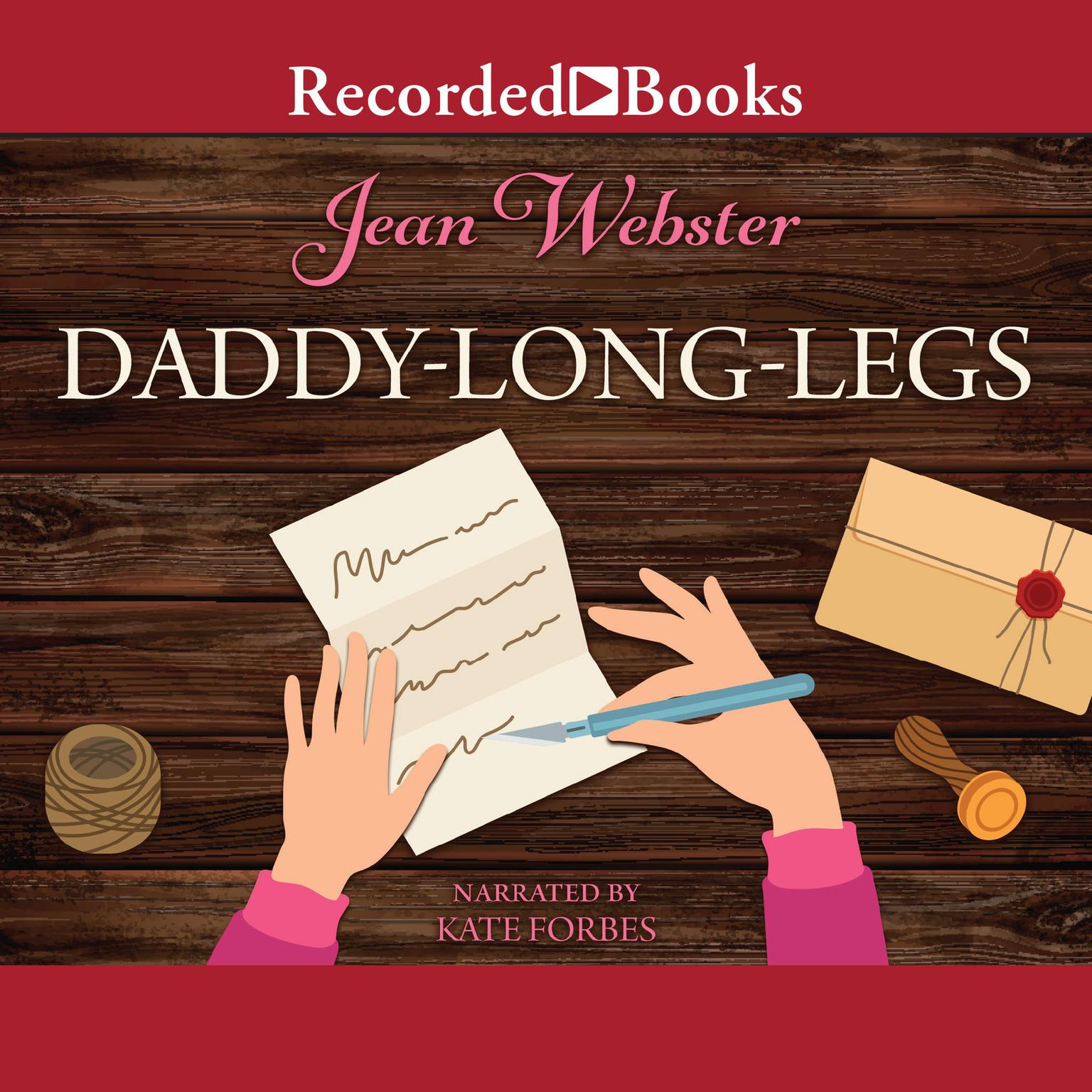 Printable Daddy-Long-Legs Audiobook Cover Art