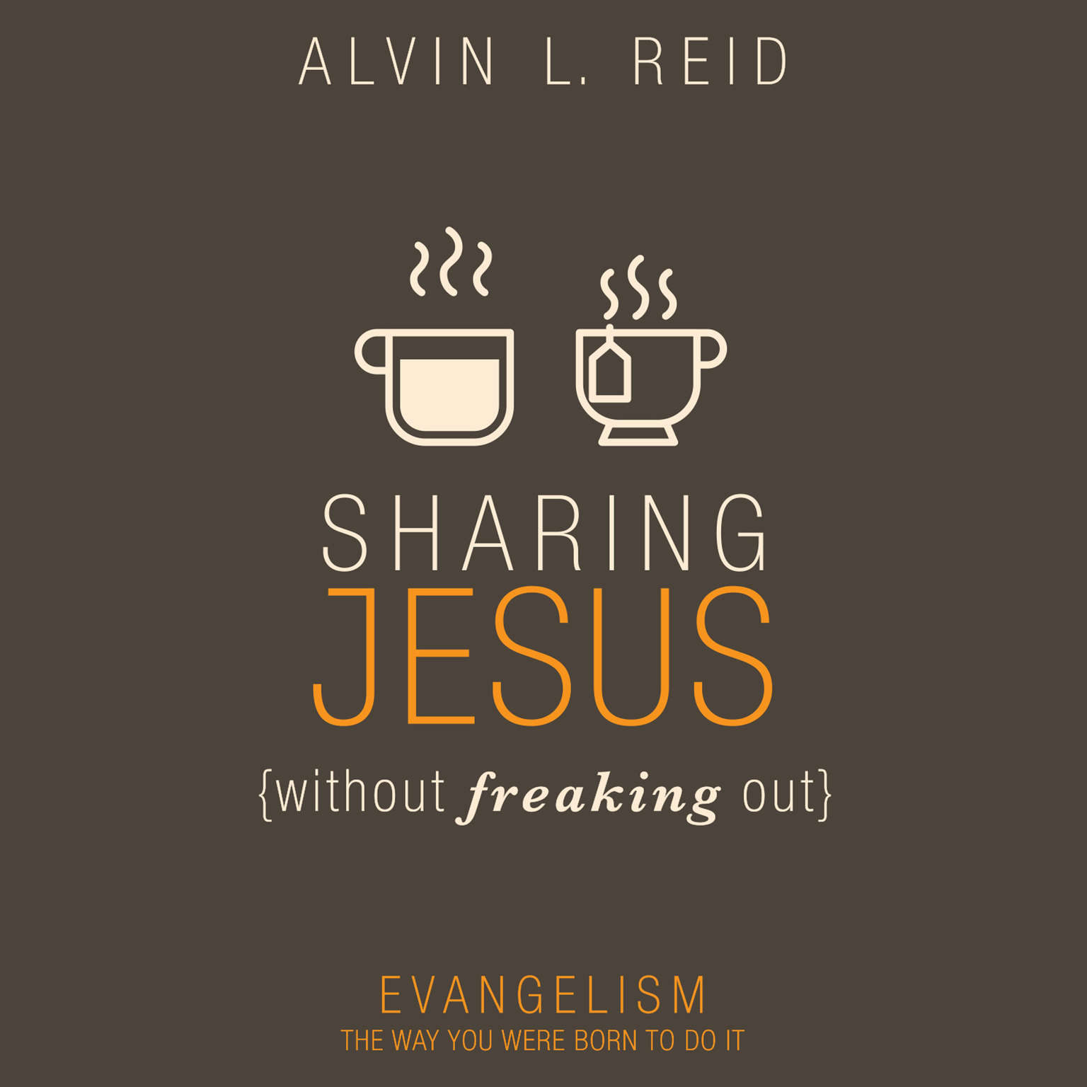 Printable Sharing Jesus Without Freaking Out: Evangelism the Way You Were Born to Do It Audiobook Cover Art