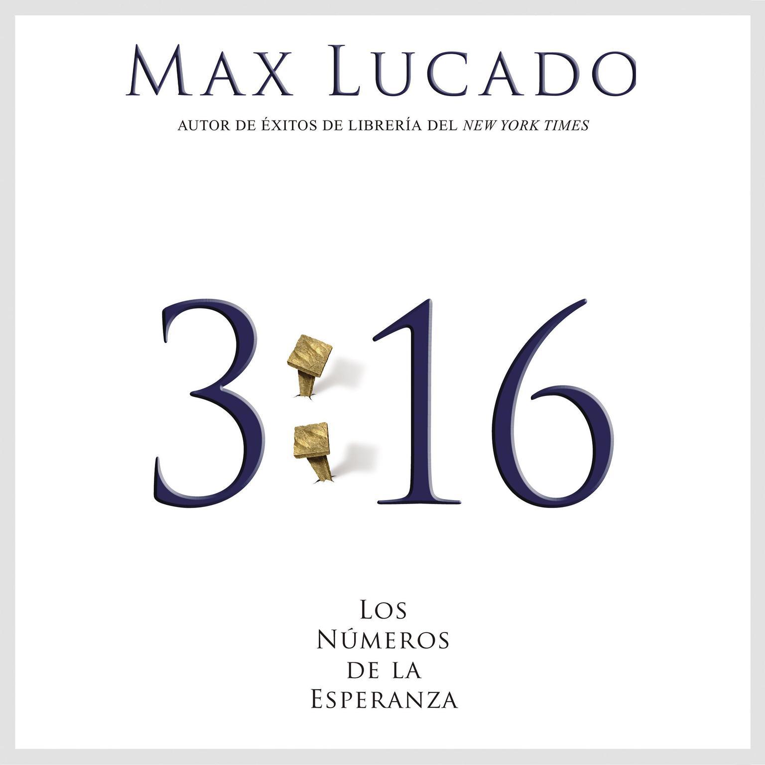 Printable 3:16: Los números de la esperanza Audiobook Cover Art