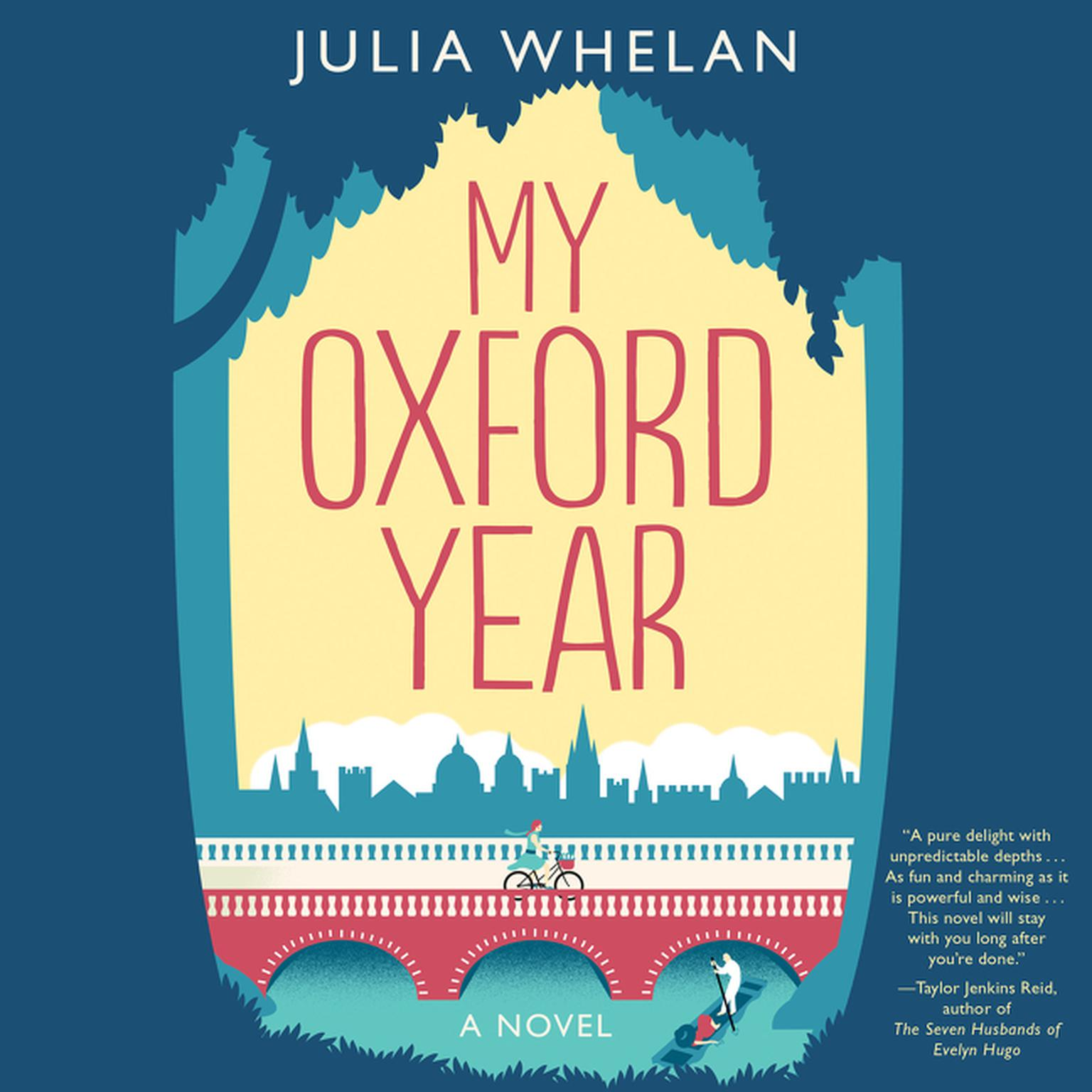 Printable My Oxford Year: A Novel Audiobook Cover Art