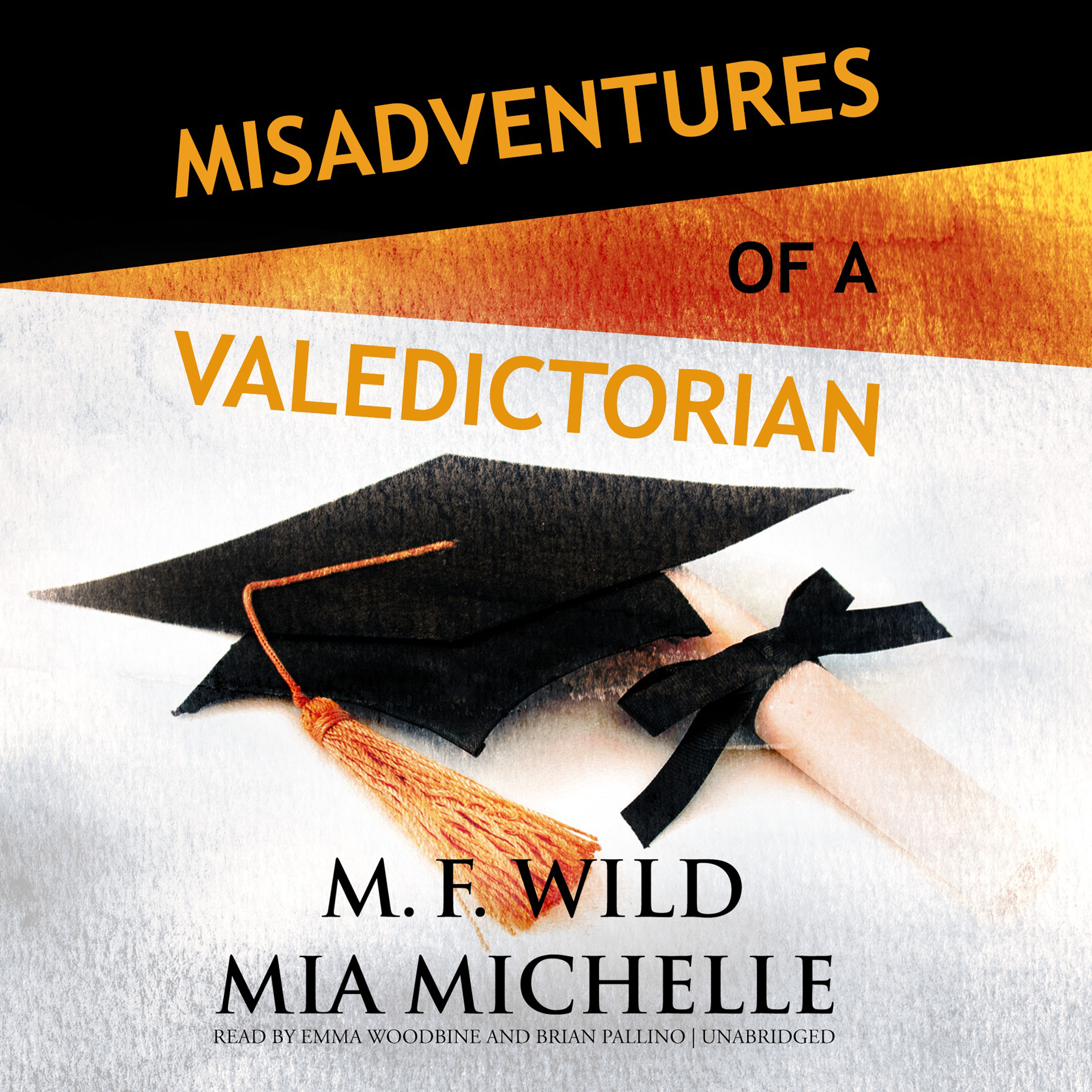 Printable Misadventures of a Valedictorian Audiobook Cover Art