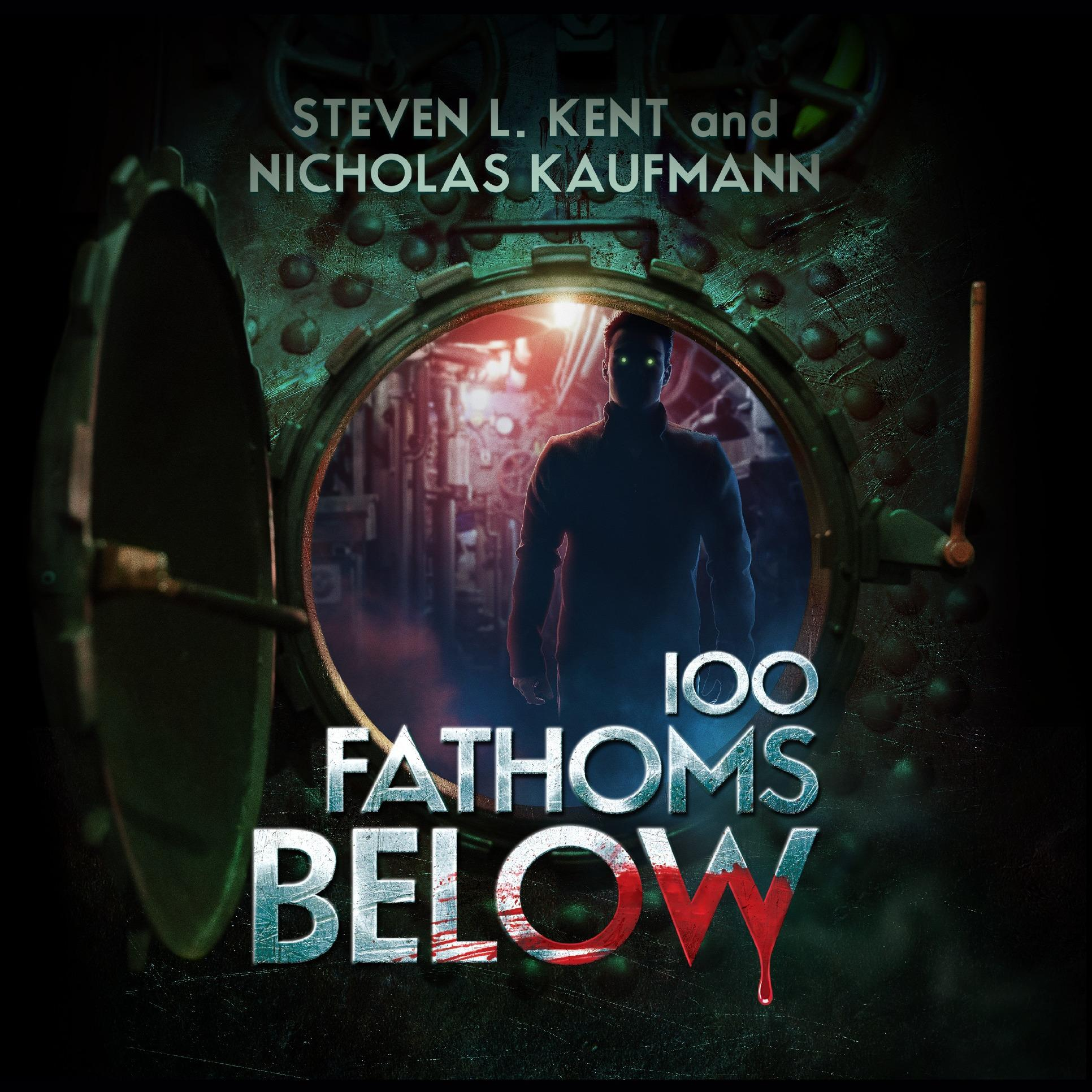 Printable 100 Fathoms Below Audiobook Cover Art