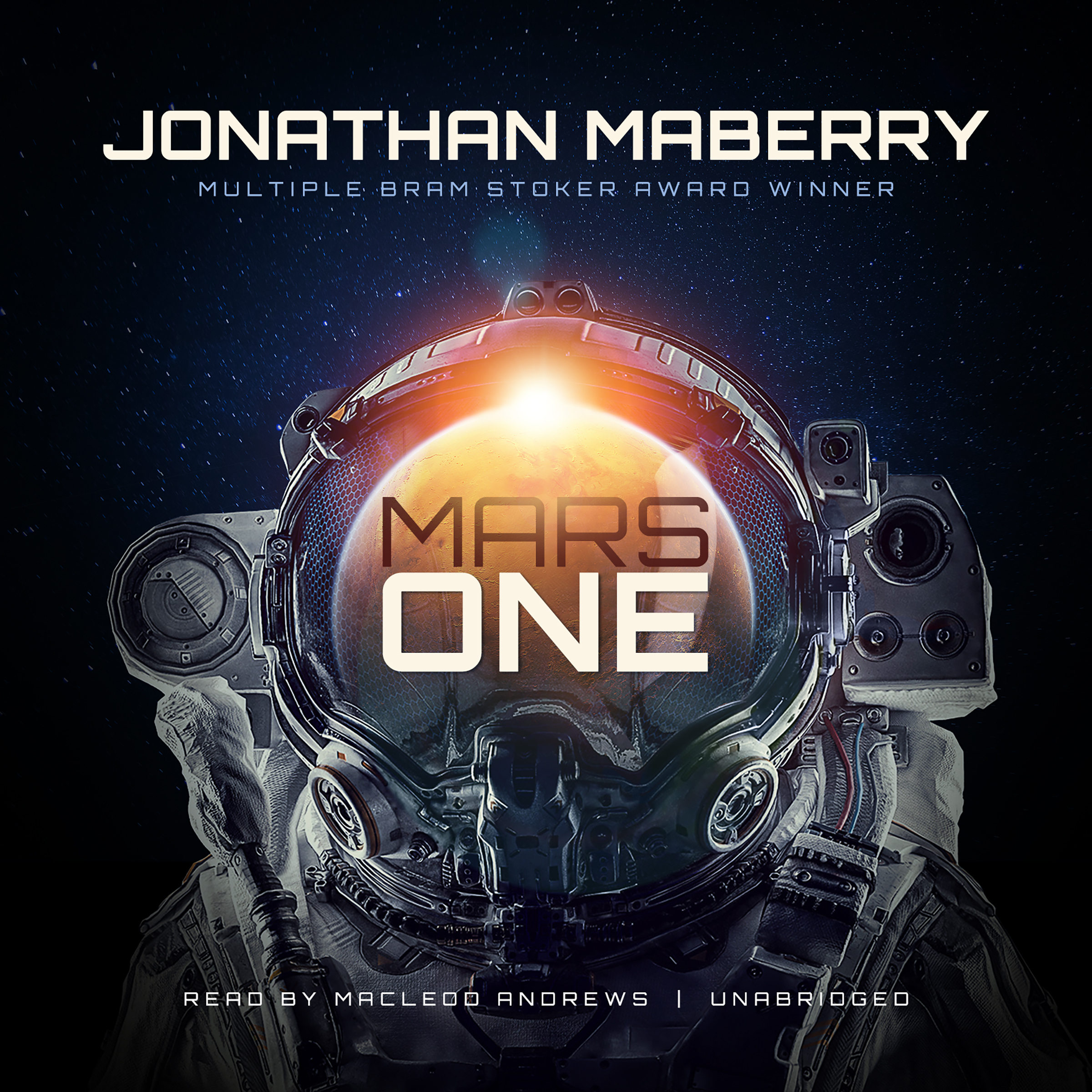 Printable Mars One Audiobook Cover Art