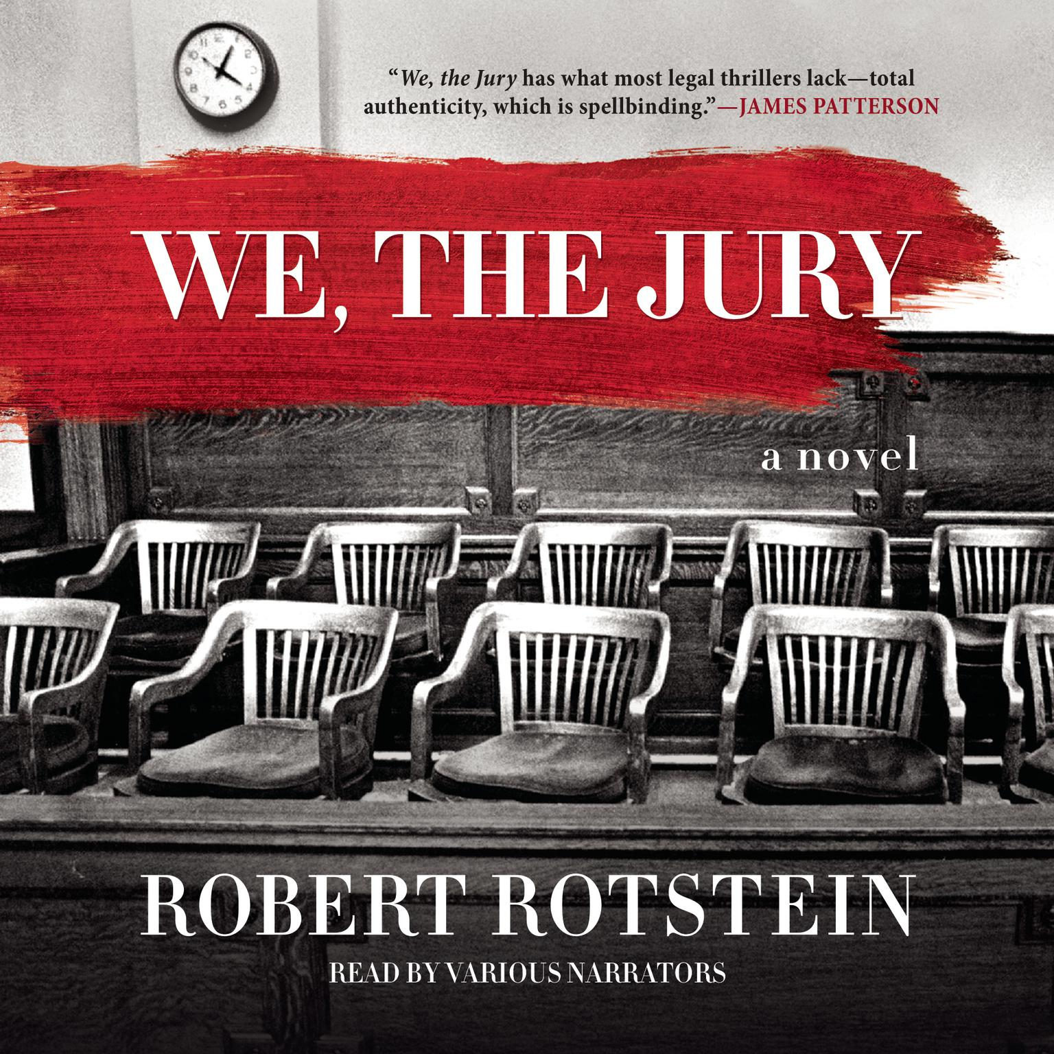 Printable We, the Jury Audiobook Cover Art