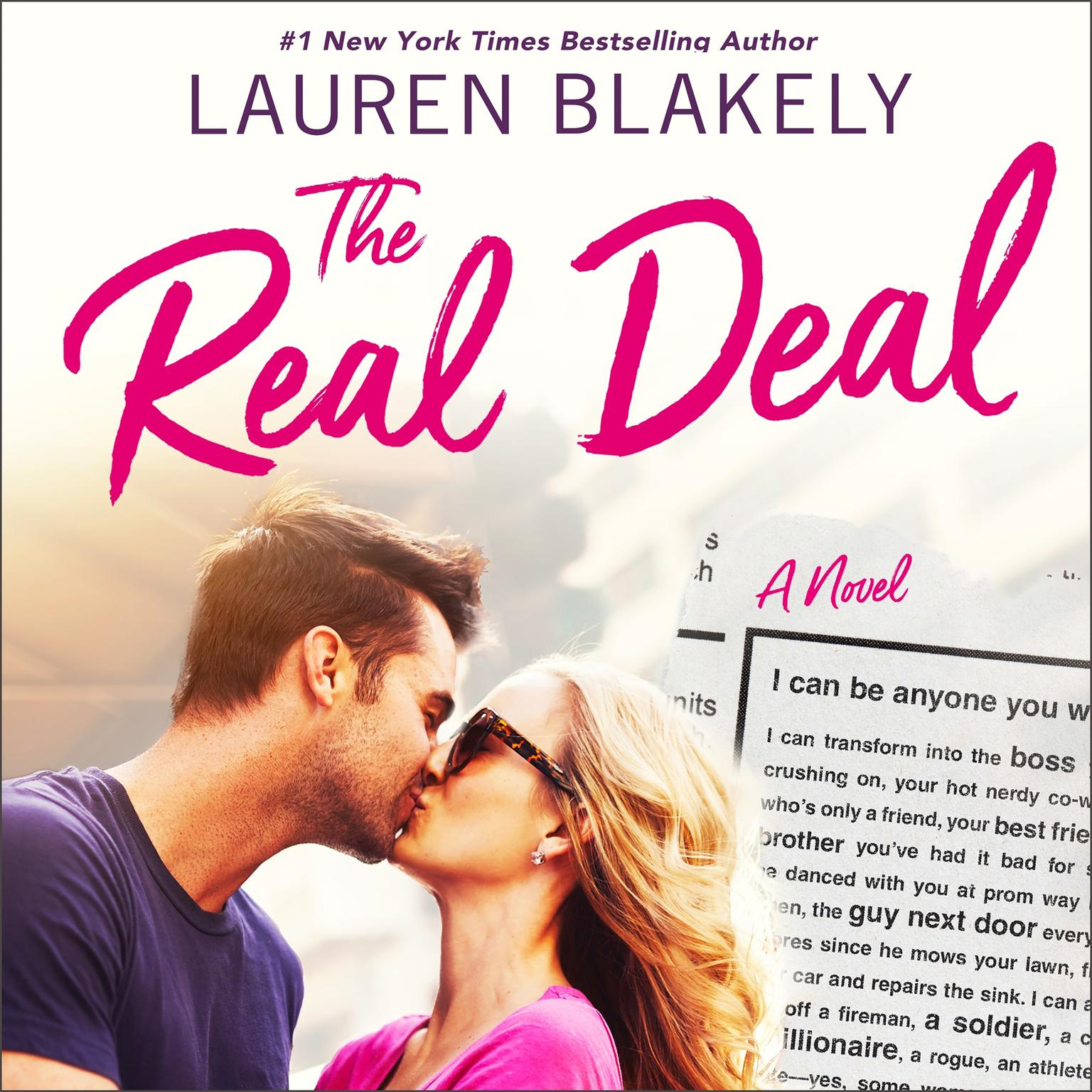 Printable The Real Deal Audiobook Cover Art