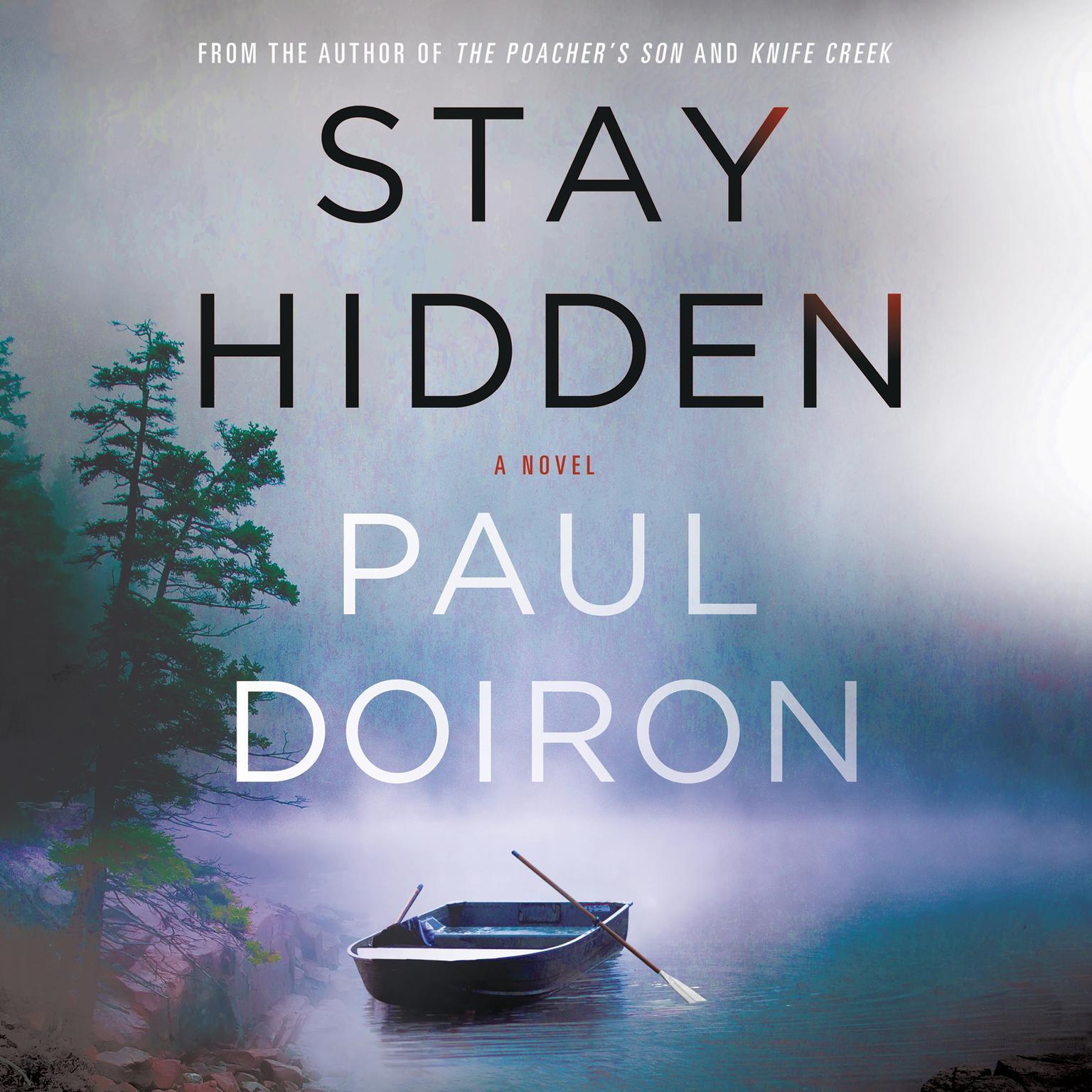 Printable Stay Hidden: A Novel Audiobook Cover Art