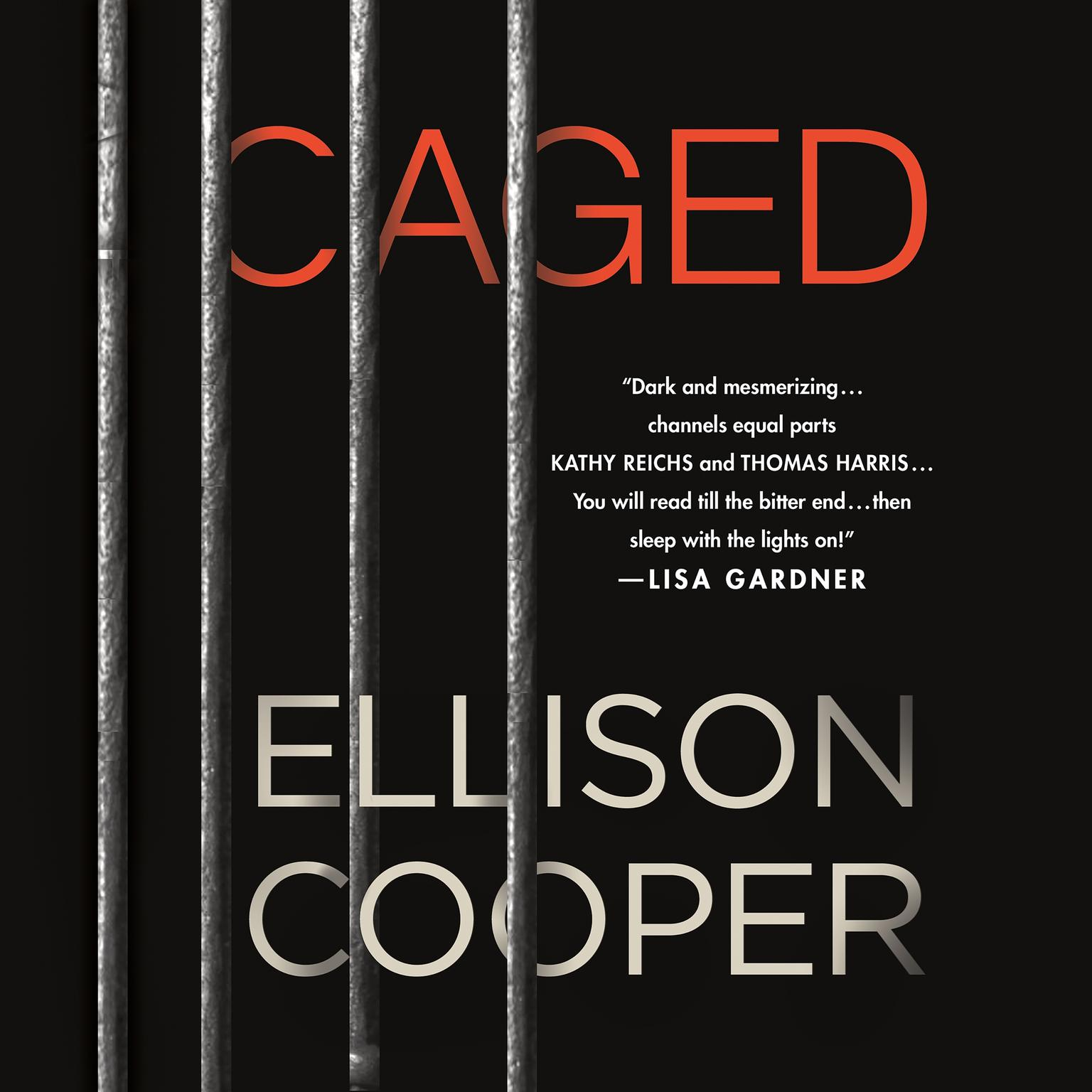 Printable Caged: A Novel Audiobook Cover Art