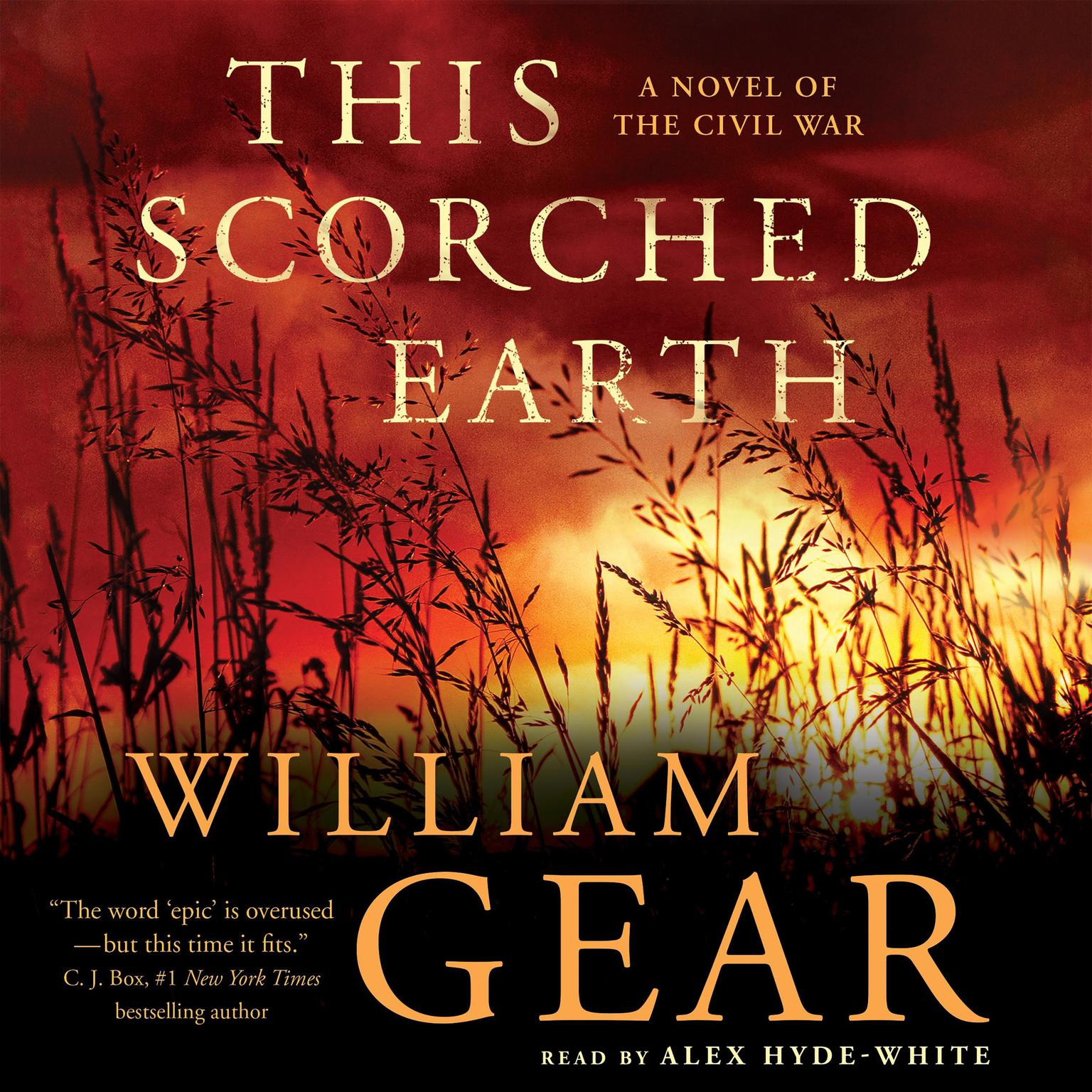 Printable This Scorched Earth: A Novel of the Civil War and the American West Audiobook Cover Art