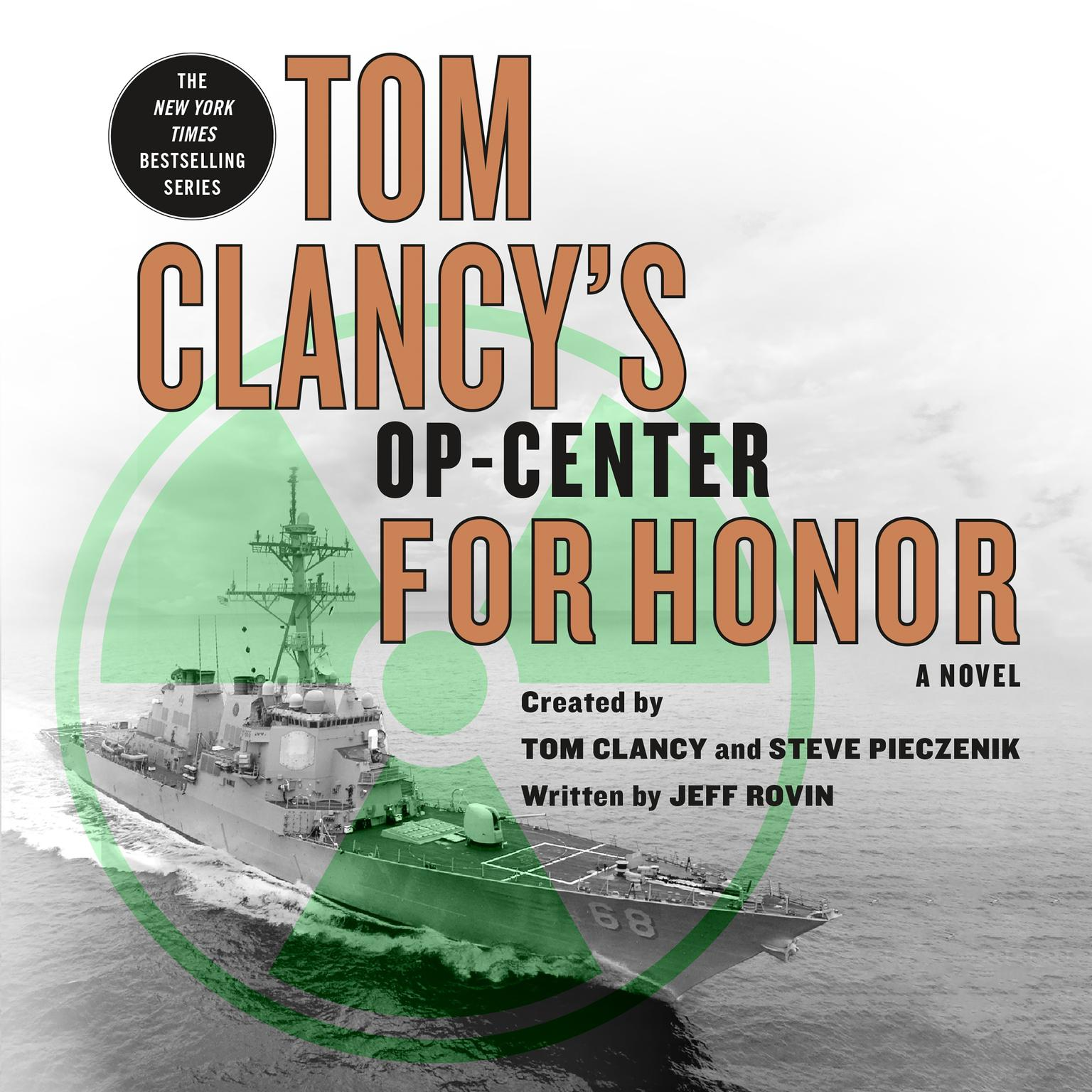 Printable Tom Clancy's Op-Center: For Honor Audiobook Cover Art