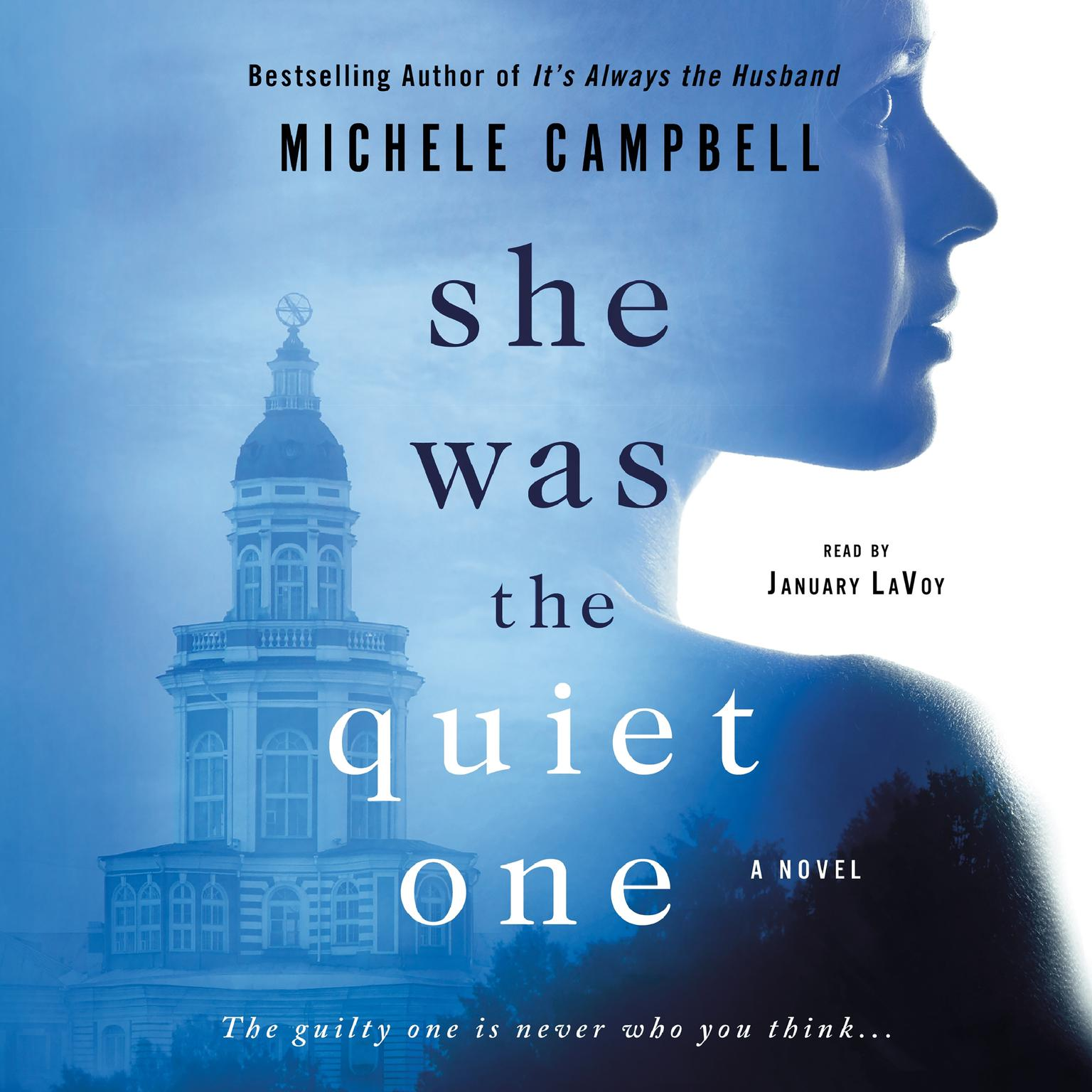 Printable She Was the Quiet One: A Novel Audiobook Cover Art