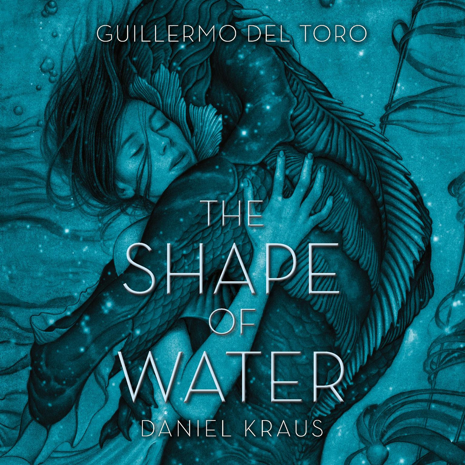 Printable The Shape of Water Audiobook Cover Art