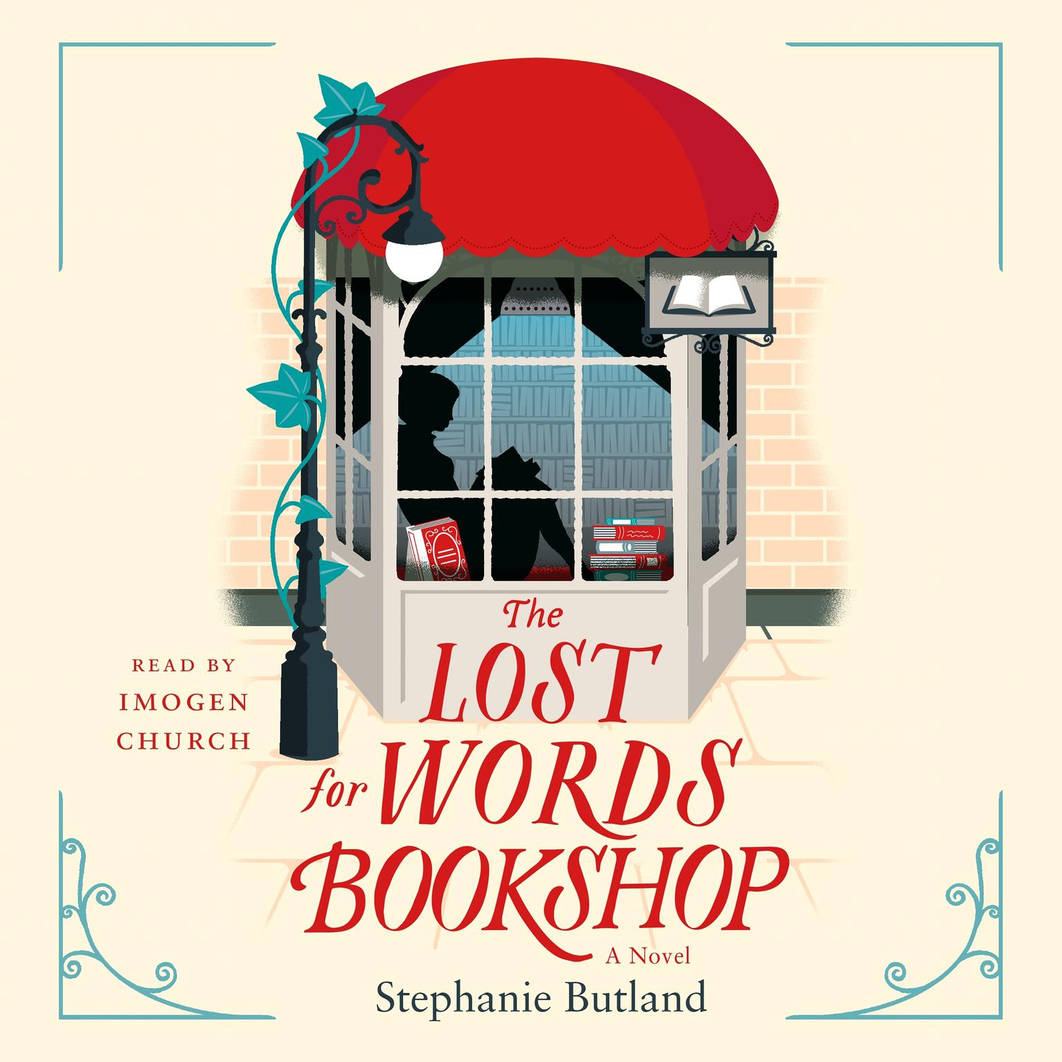 Printable The Lost for Words Bookshop: A Novel Audiobook Cover Art