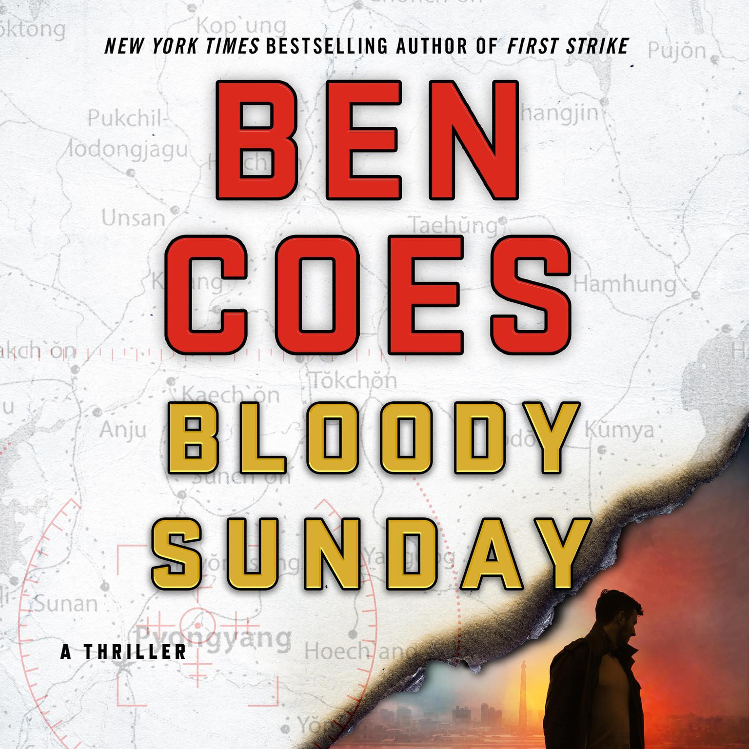 Printable Bloody Sunday: A Thriller Audiobook Cover Art