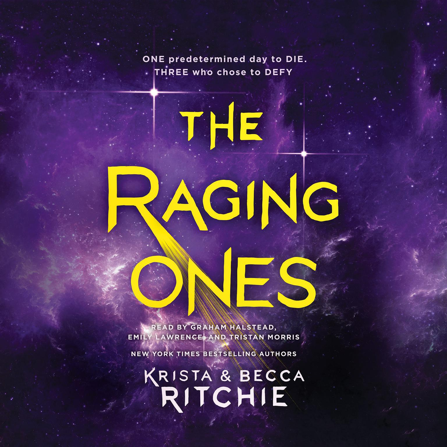 Printable The Raging Ones Audiobook Cover Art
