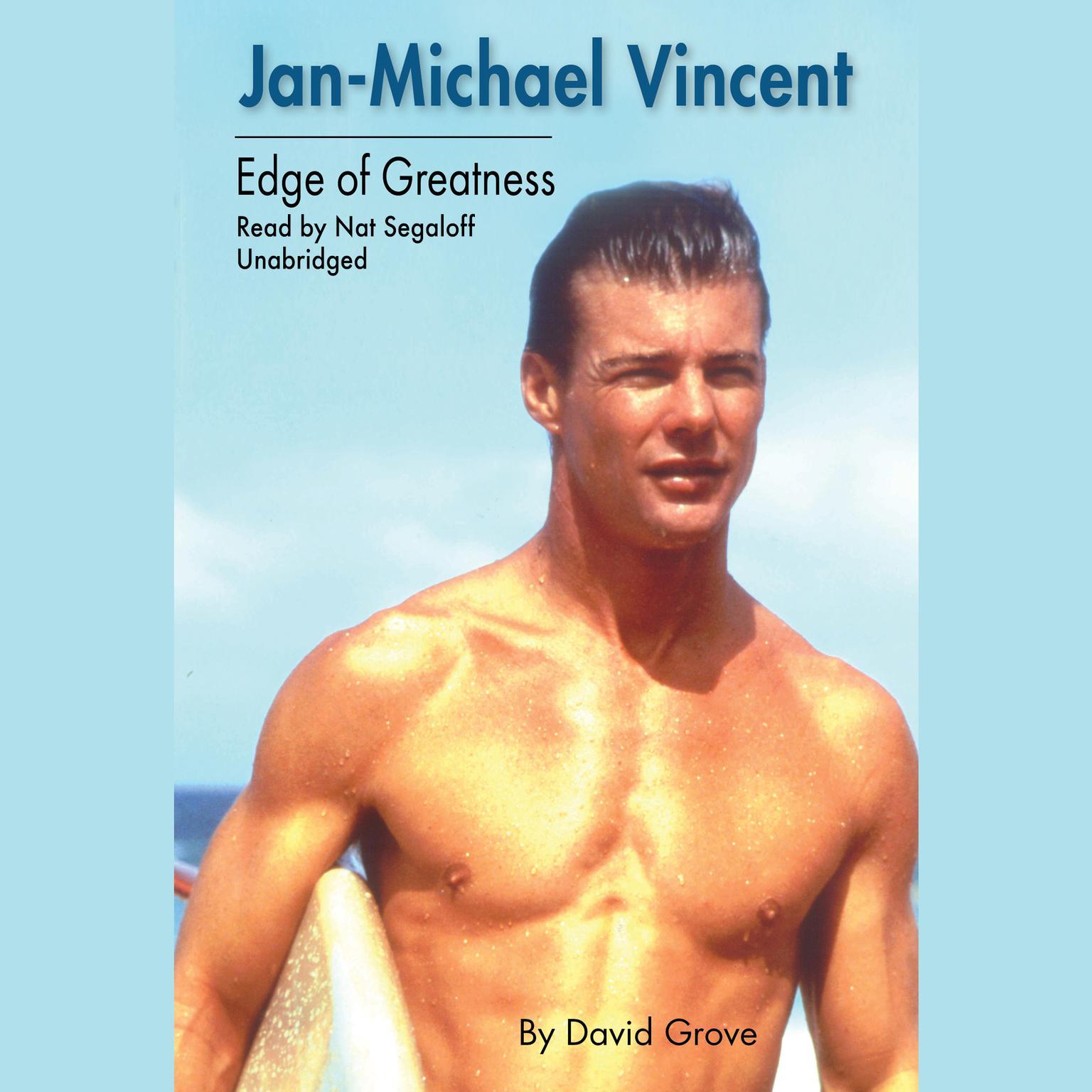 Printable Jan-Michael Vincent : Edge of Greatness Audiobook Cover Art