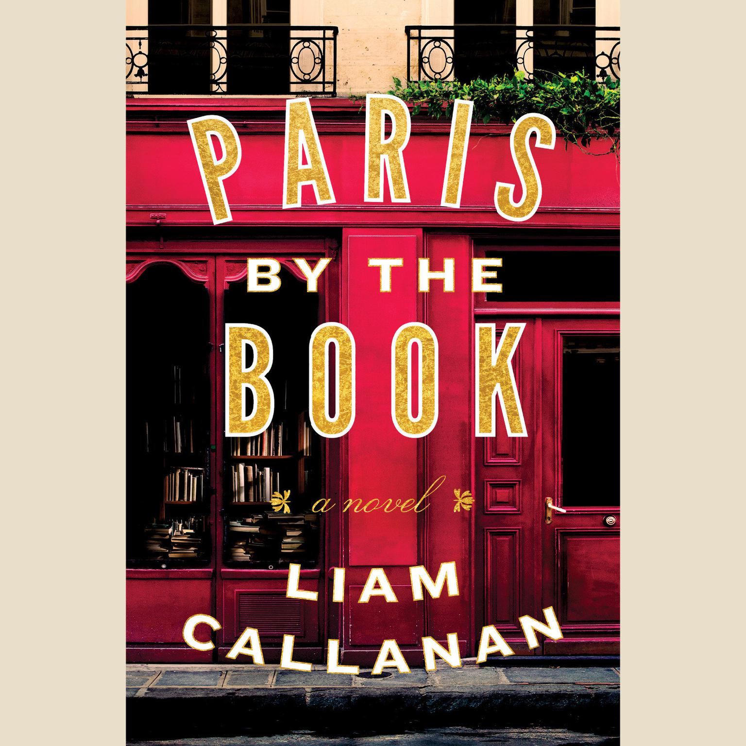 Printable Paris by the Book: A Novel Audiobook Cover Art
