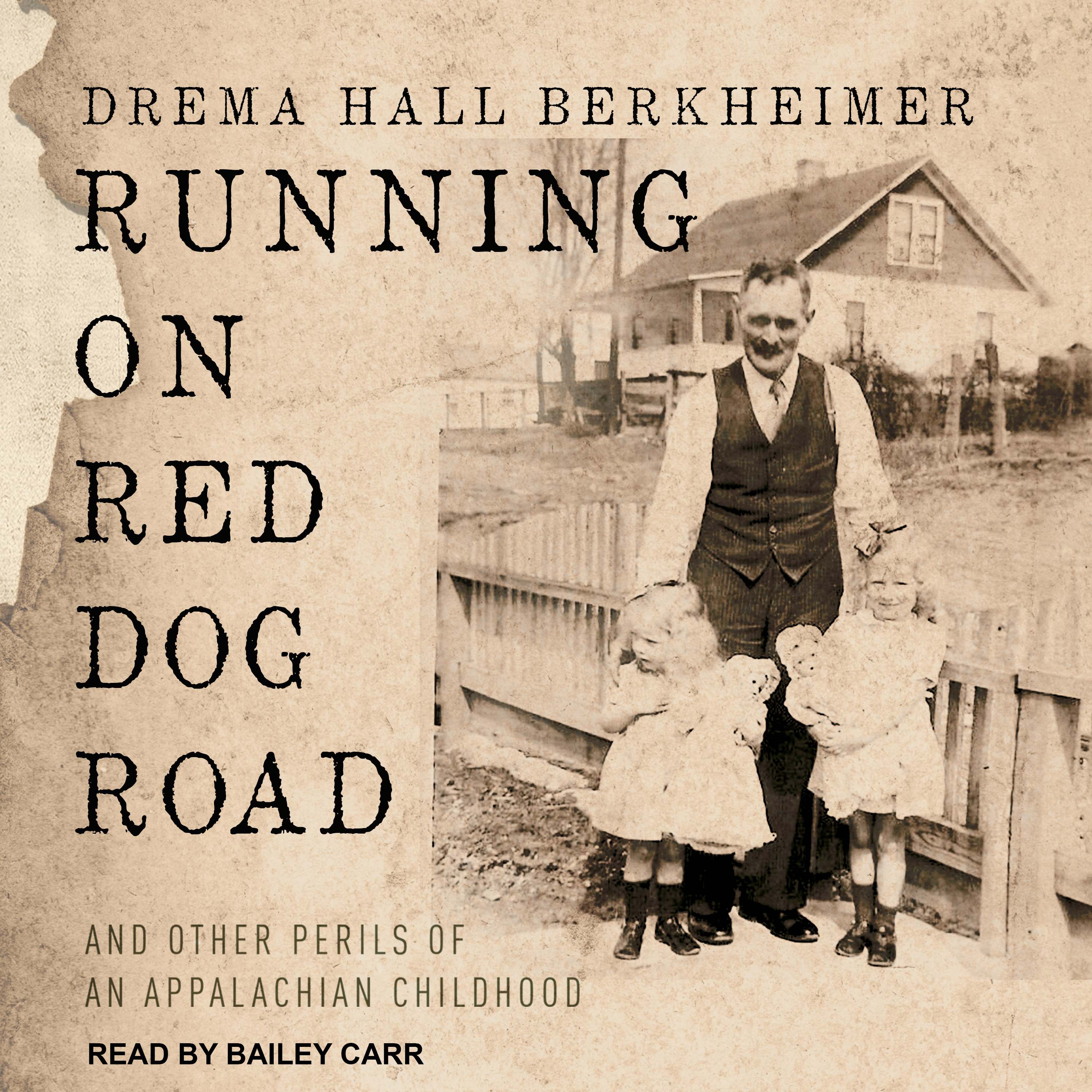 Printable Running on Red Dog Road: And Other Perils of an Appalachian Childhood Audiobook Cover Art