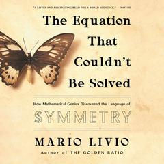 The Equation That Couldnt Be Solved: How Mathematical Genius Discovered the Language of Symmetry Audiobook, by Mario Livio
