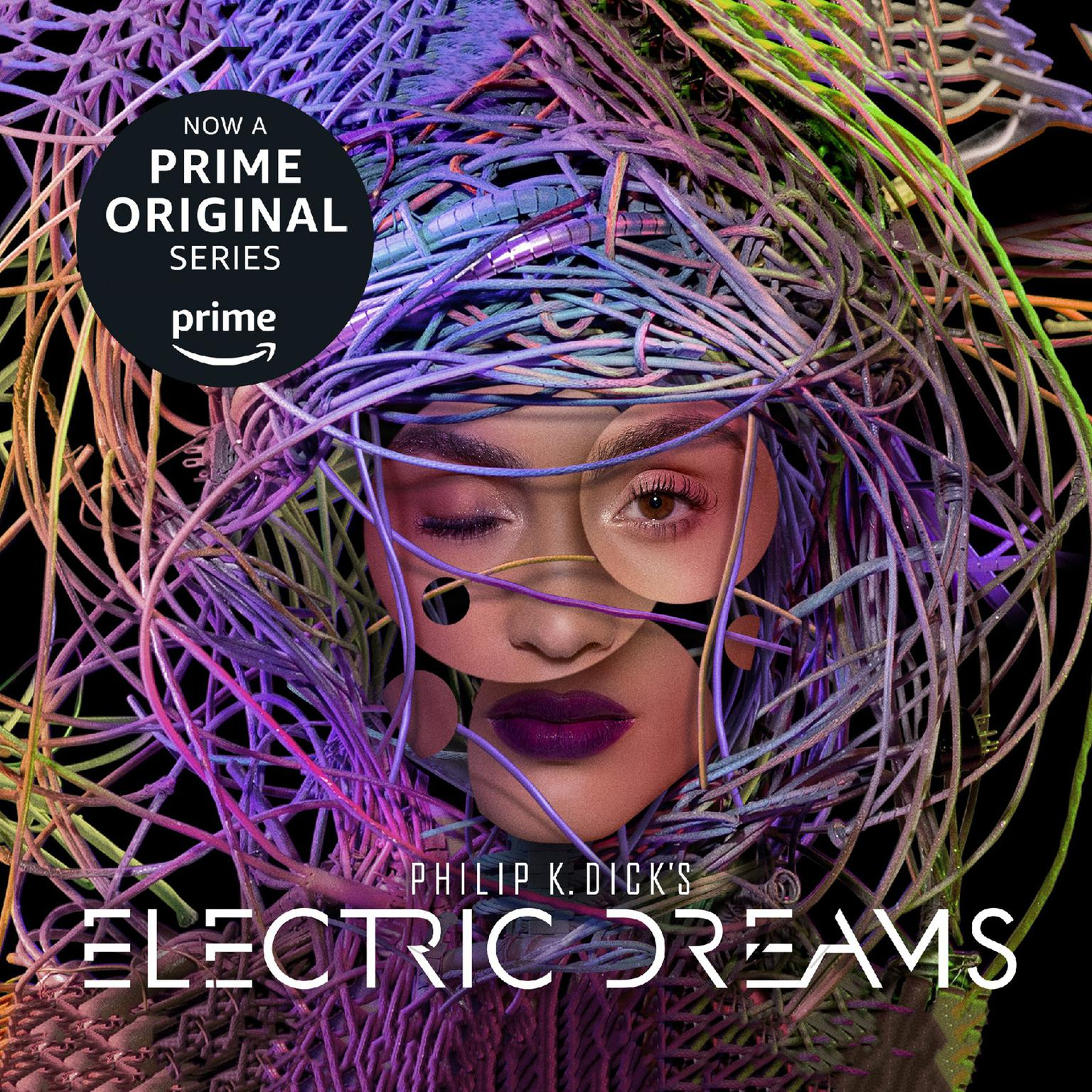 Printable Philip K. Dick's Electric Dreams Audiobook Cover Art