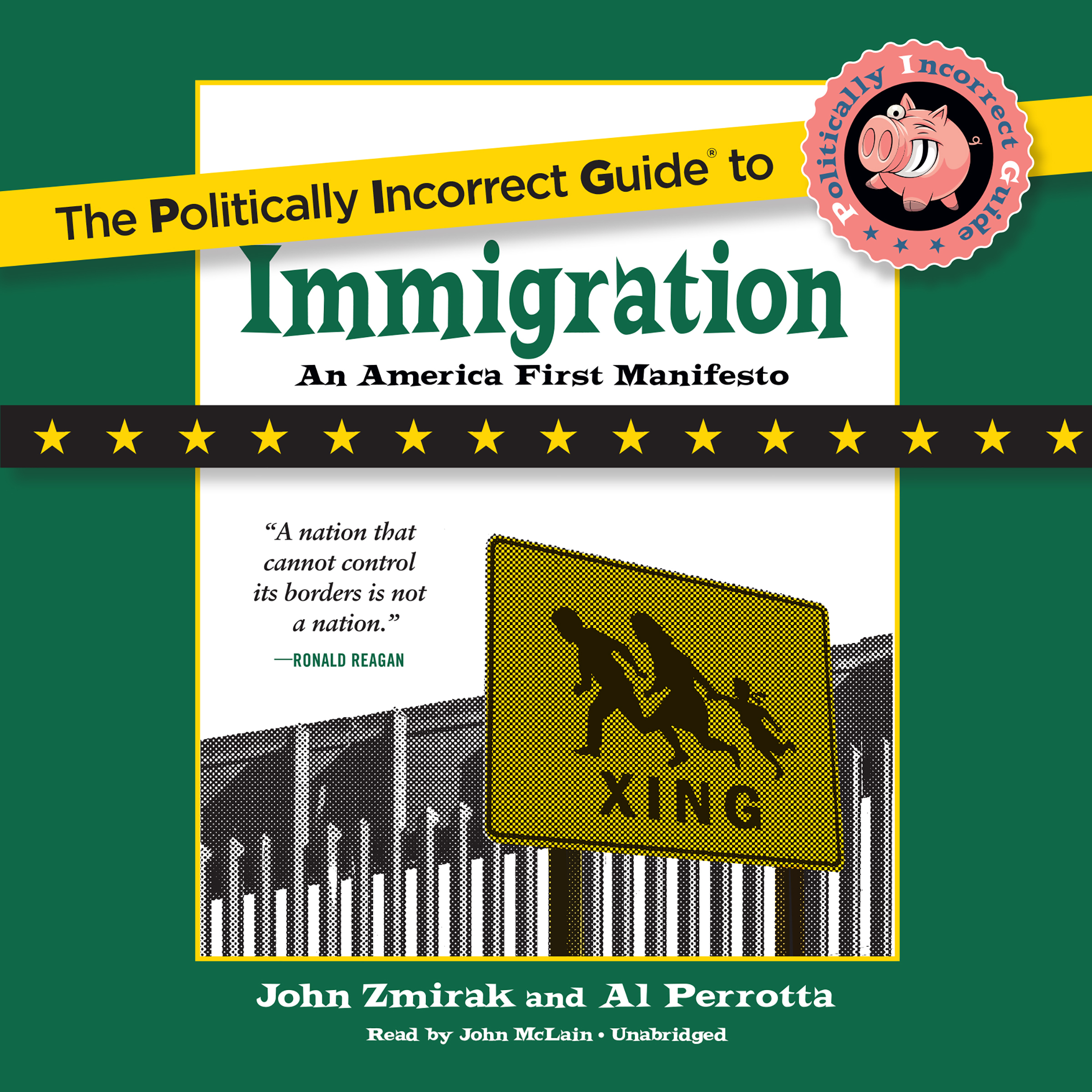 Printable The Politically Incorrect Guide to Immigration Audiobook Cover Art