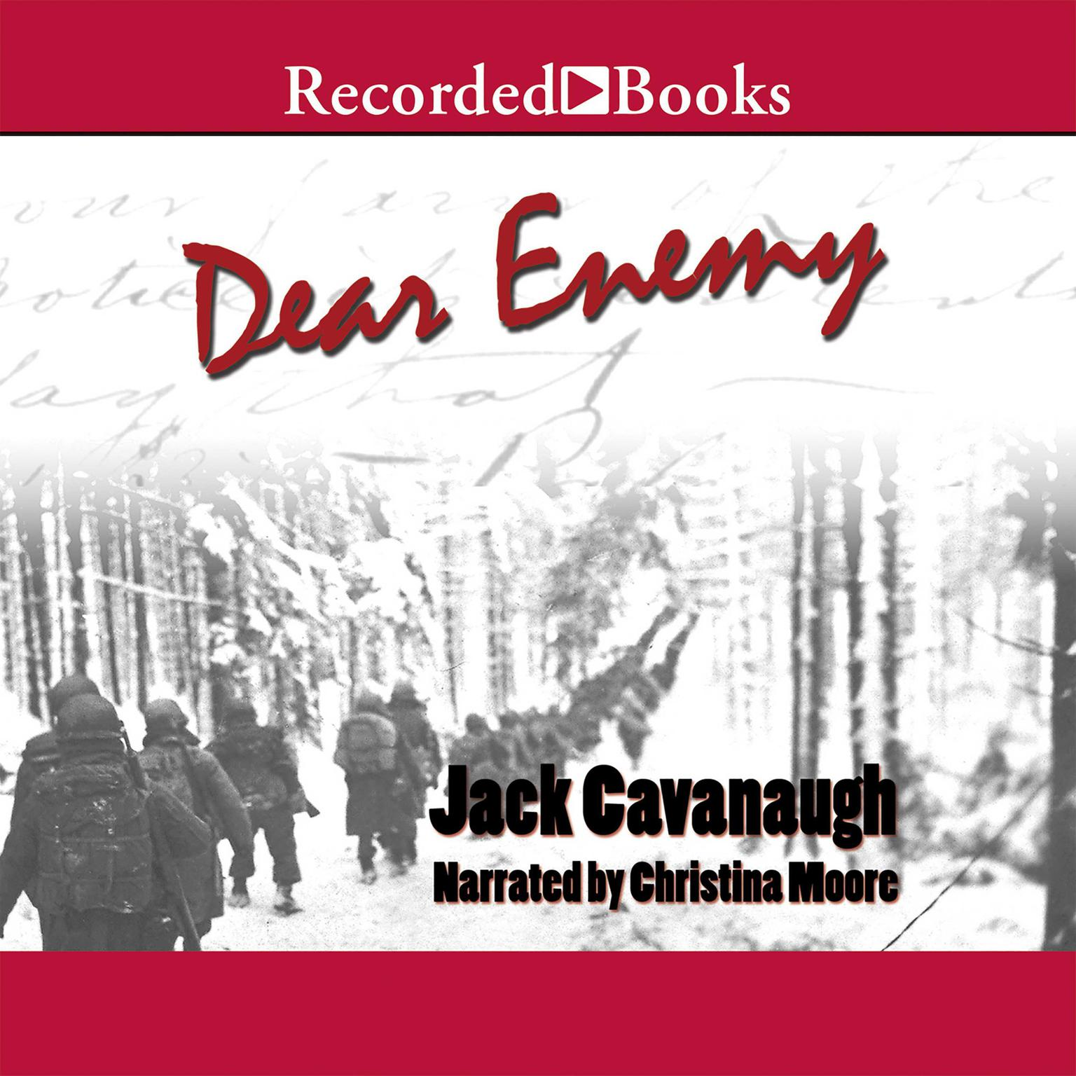 Printable Dear Enemy Audiobook Cover Art