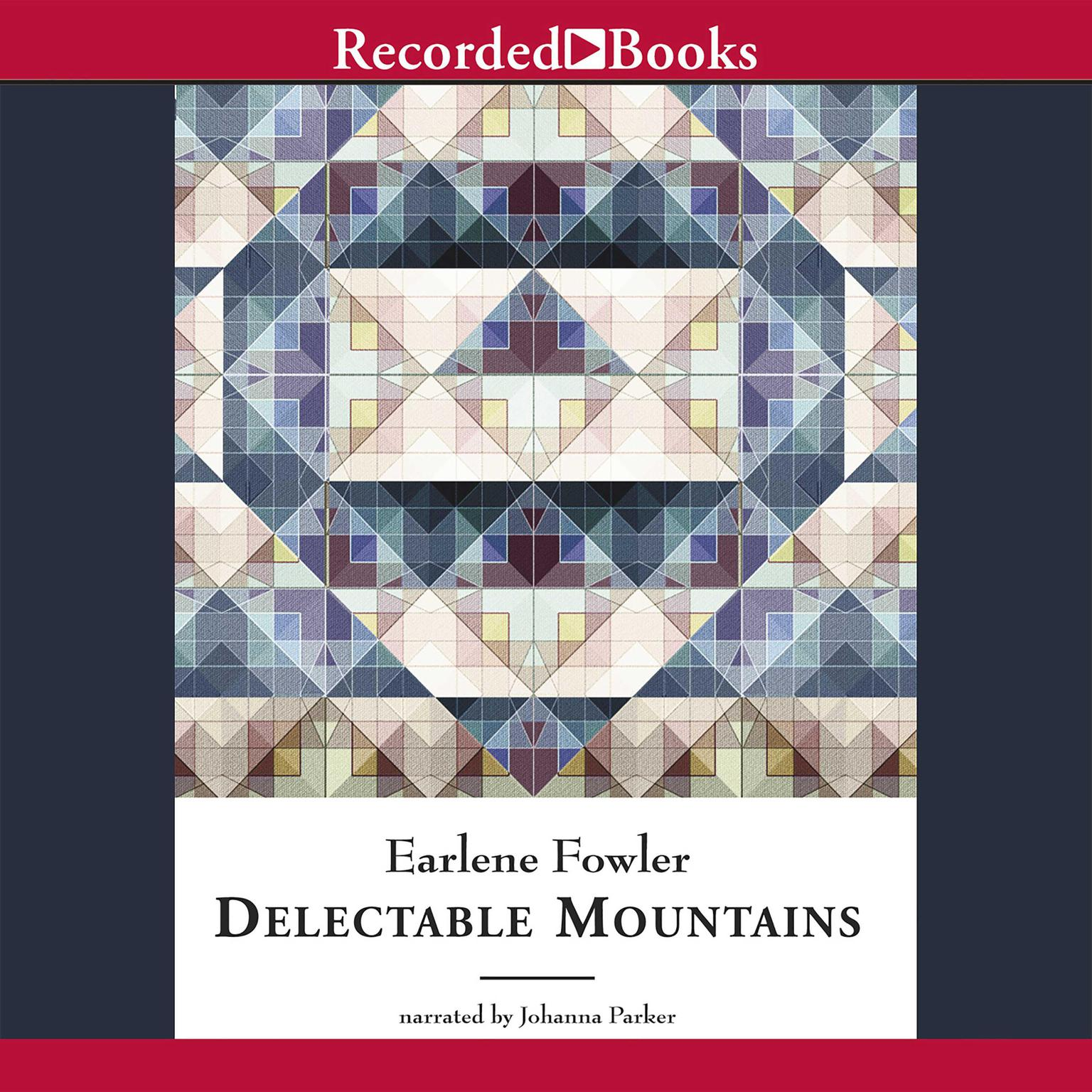 Printable Delectable Mountains Audiobook Cover Art