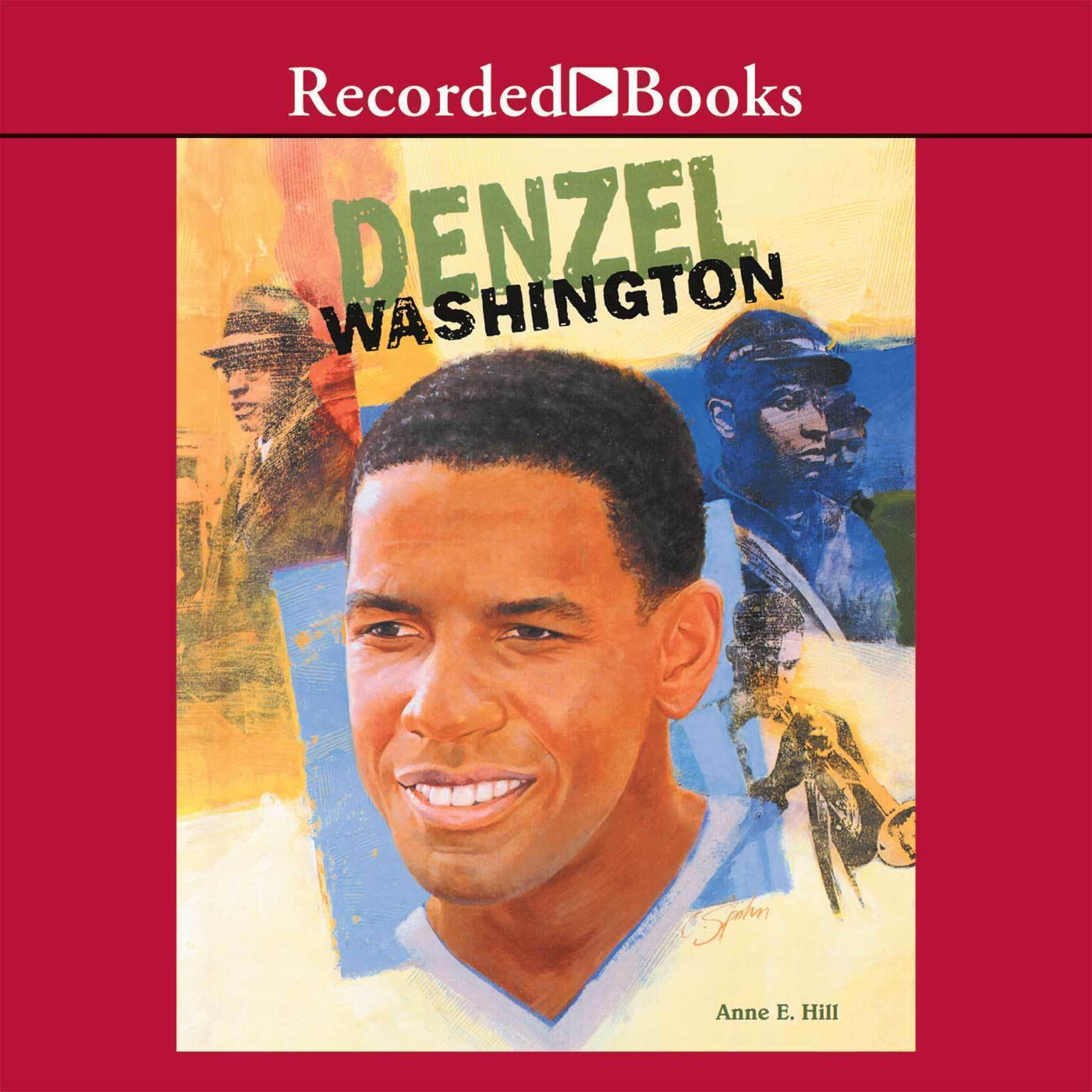 Printable Denzel Washington Audiobook Cover Art